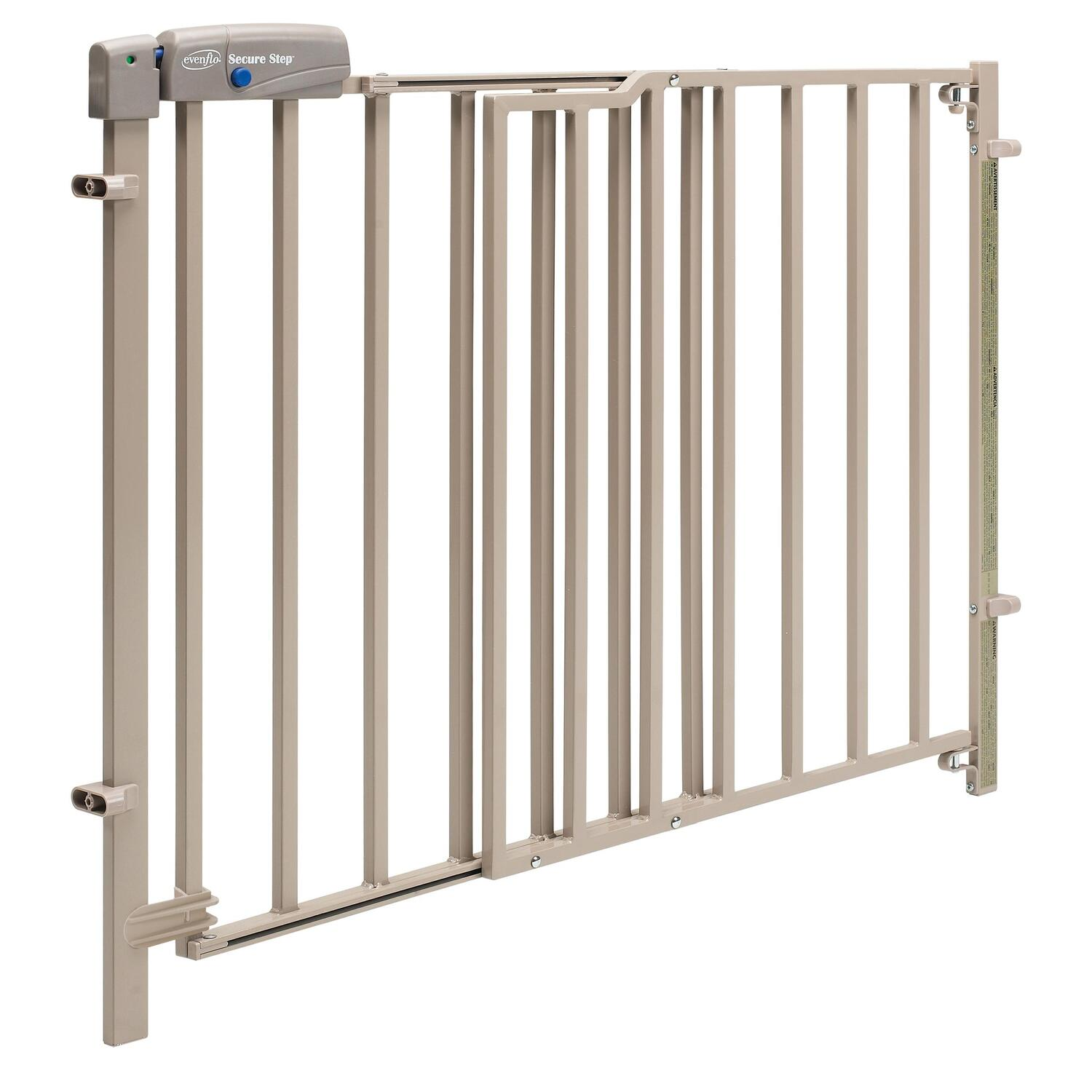 Evenflo Secure Step Top Of Stair Gate Taupe By Oj