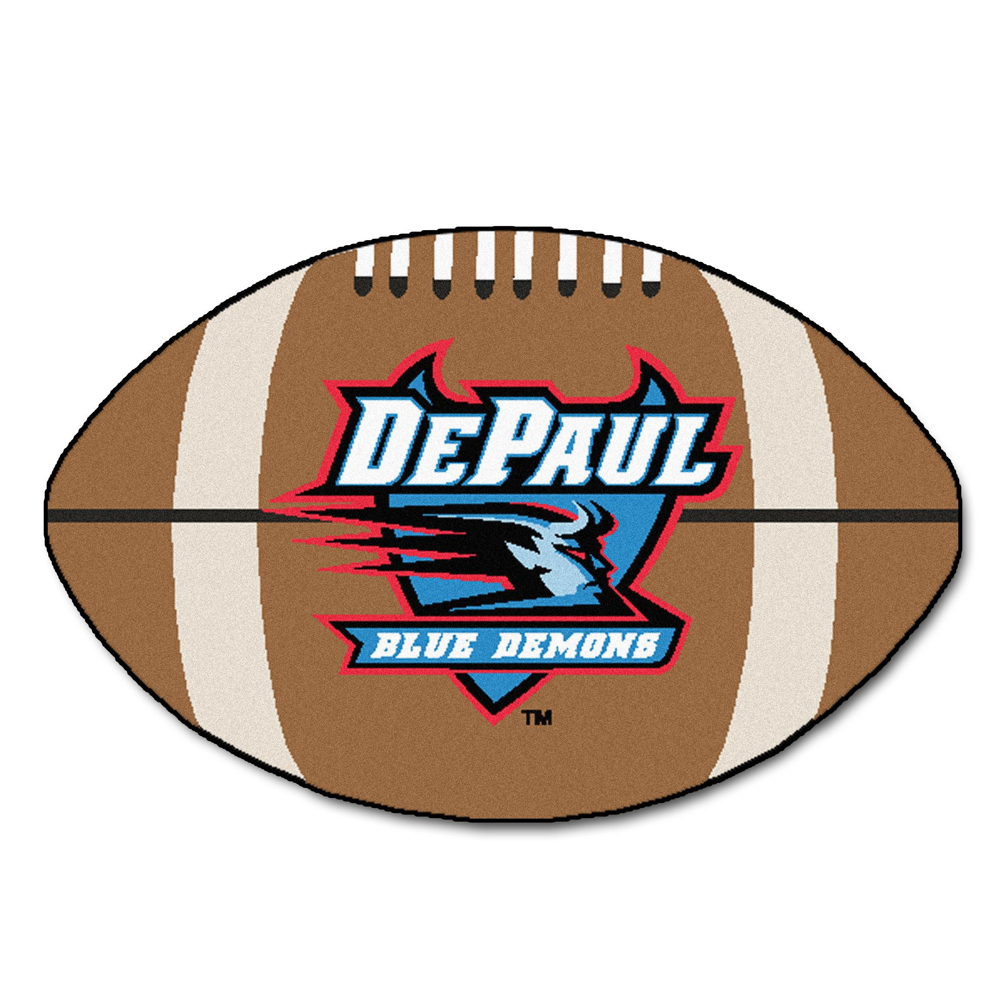 Depaul University Depaul University Football Mat 27