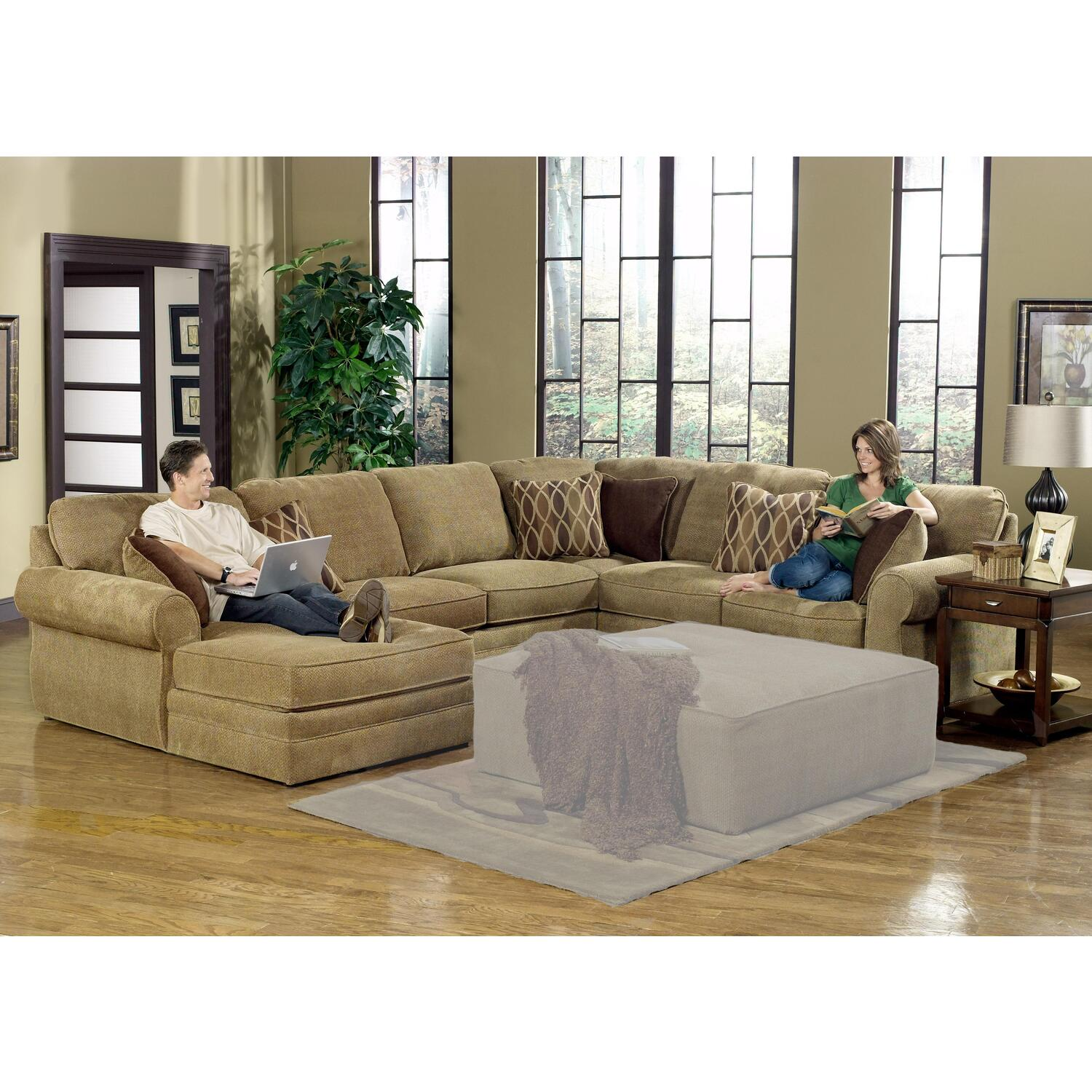 Jackson Furniture Magnitude U Shaped Sectional By Oj