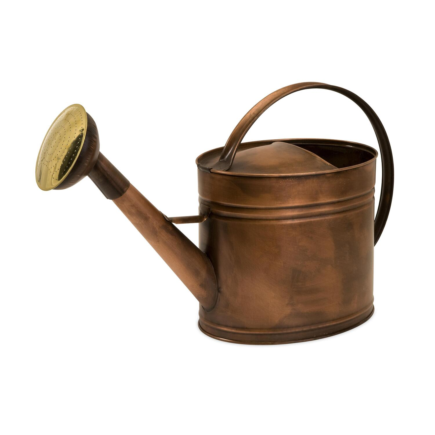 Imak tauba large oval copper watering can by oj commerce 44088 - Sprinkling cans ...