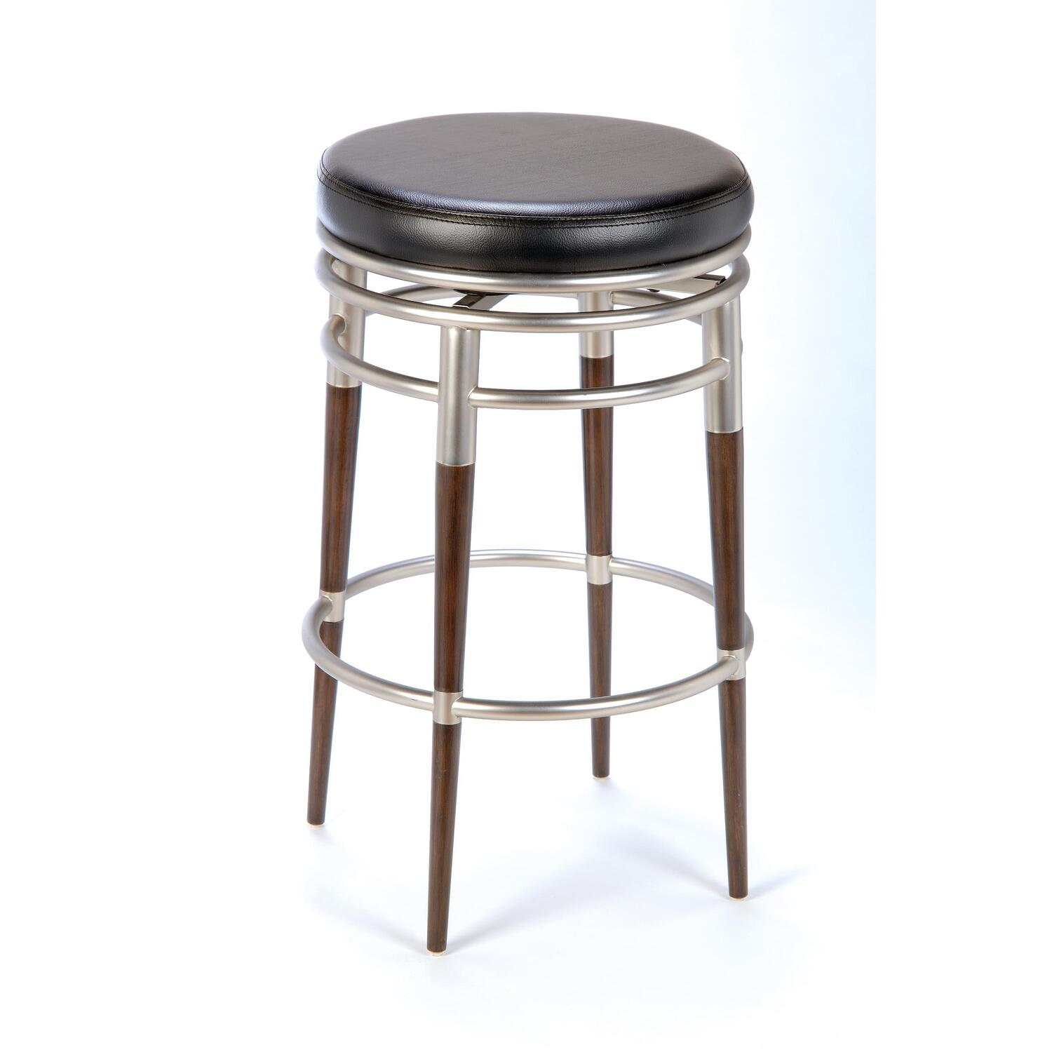 hillsdale furniture salem backless swivel bar stool by oj