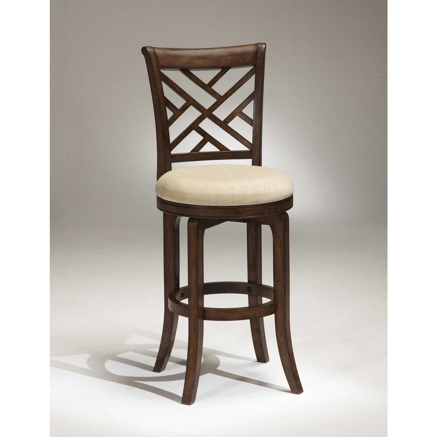 Hillsdale Furniture Garden Back Swivel Bar Stool By Oj