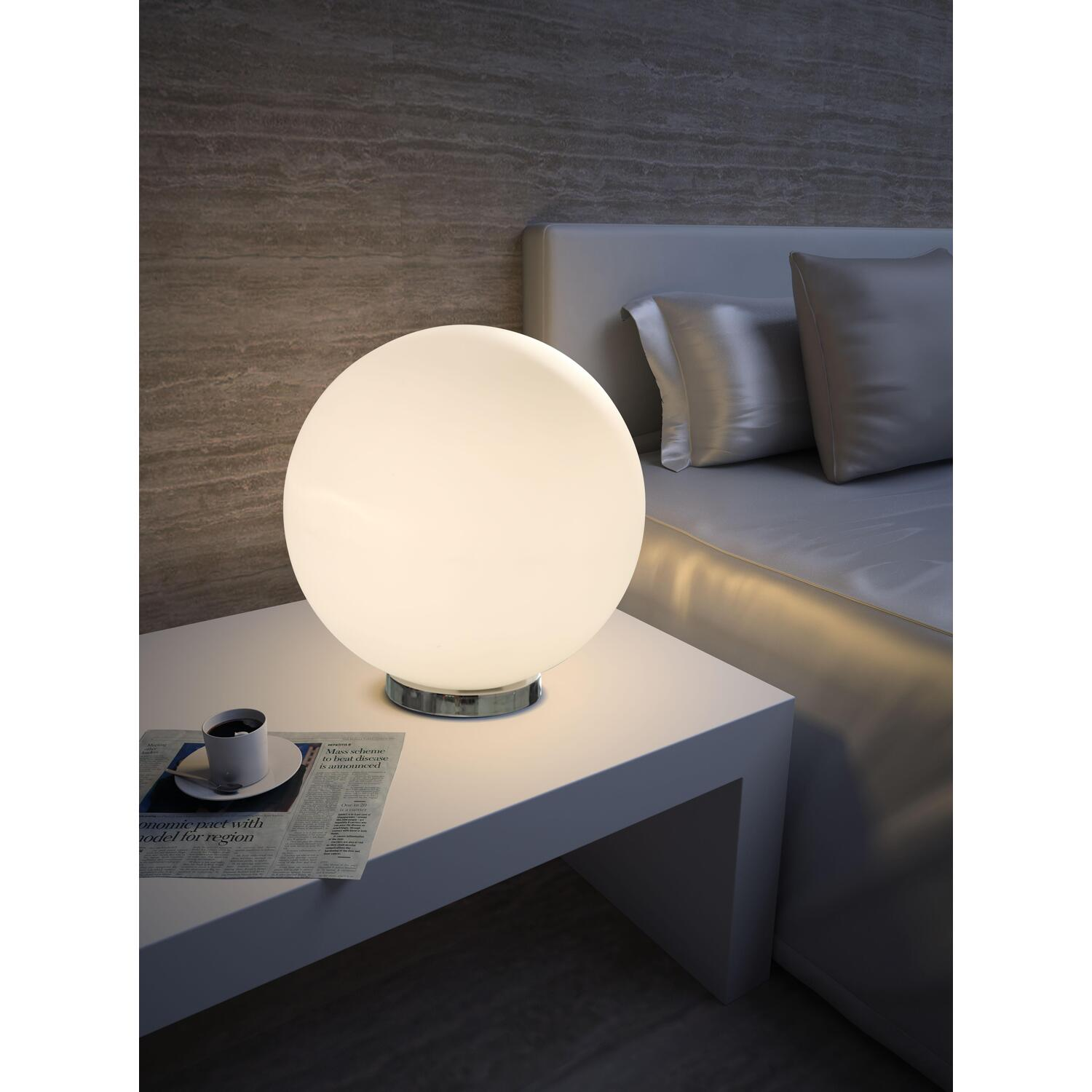 zuo modern sun table lamp by oj commerce 50011. Black Bedroom Furniture Sets. Home Design Ideas