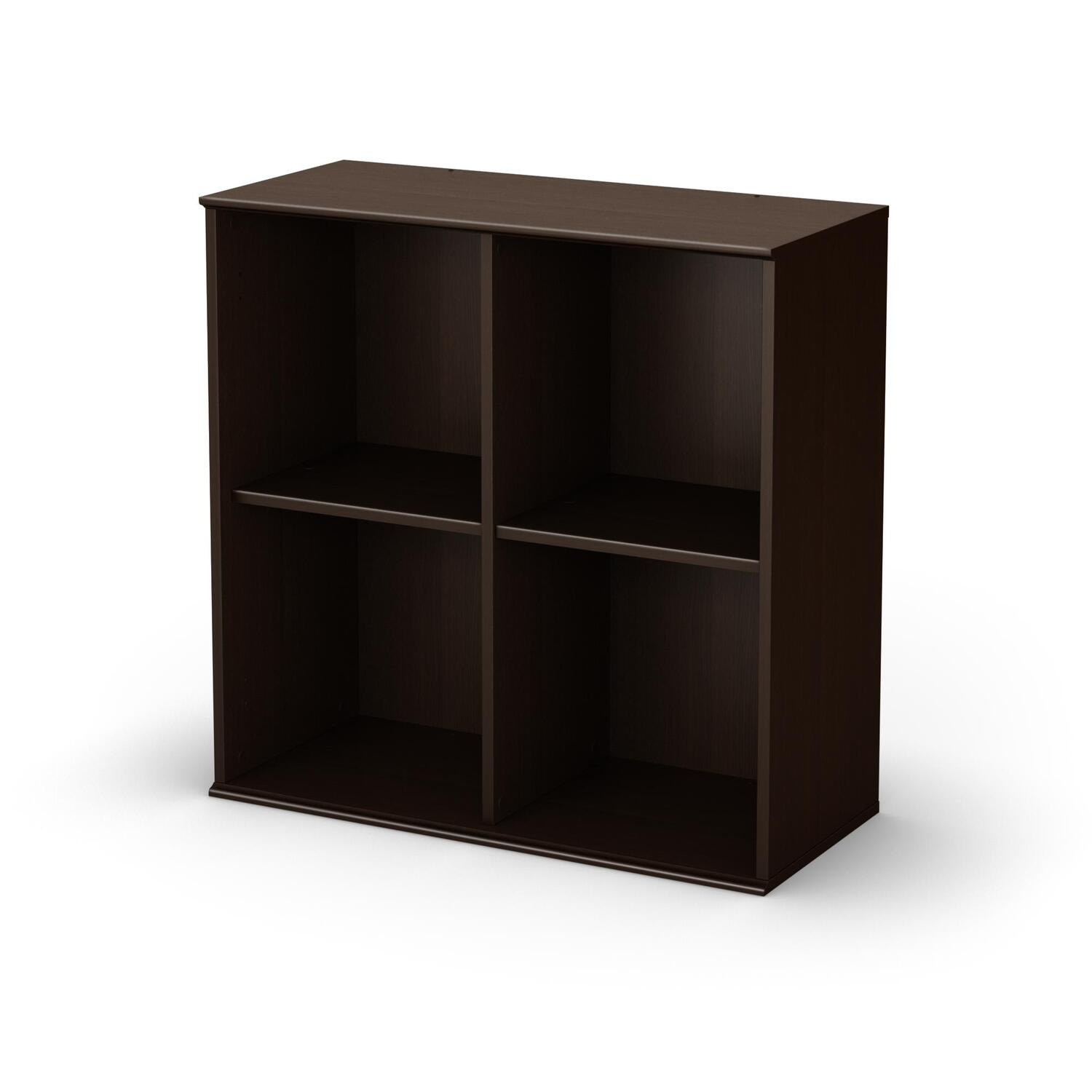 south shore stor it 4 cubby storage shelves by oj commerce