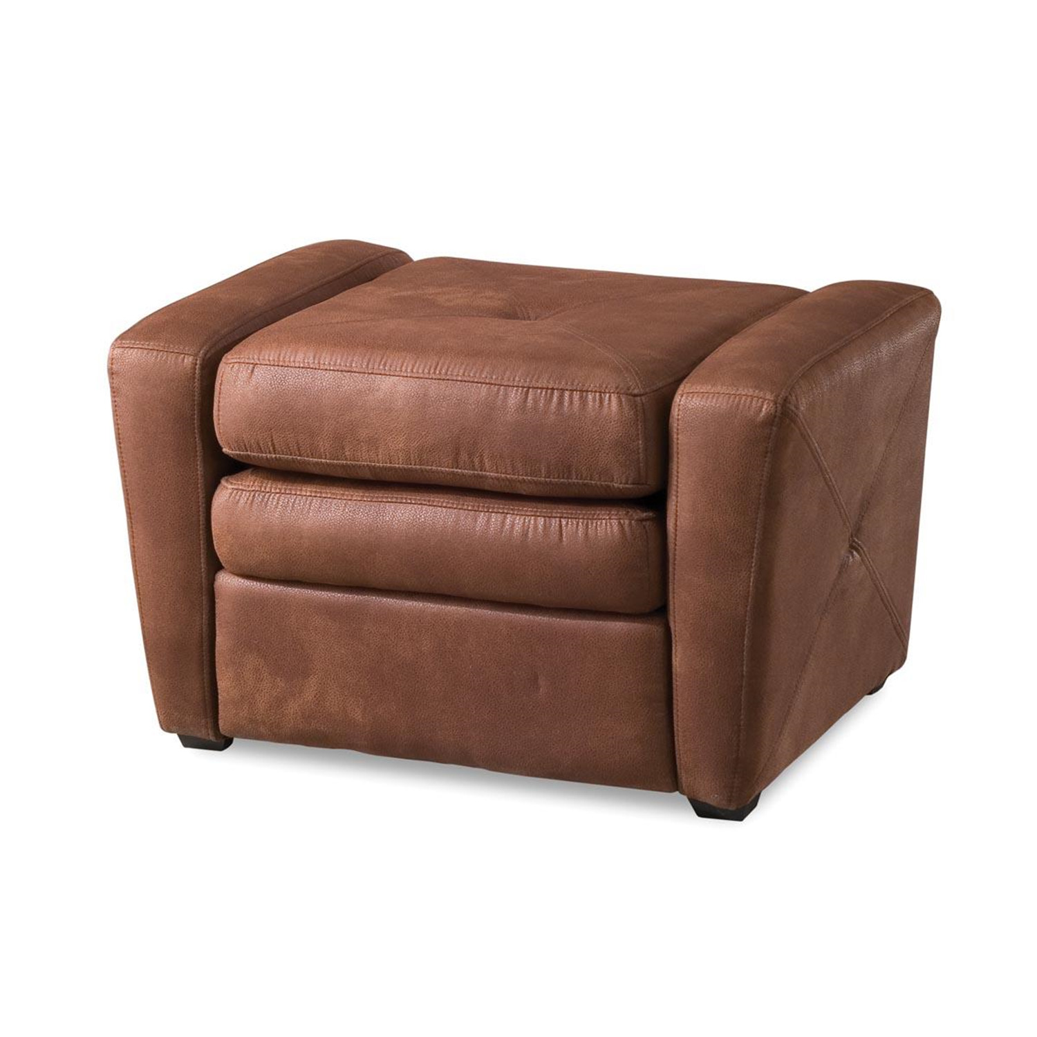 Home Styles Rustic Brown Microfiber Gaming Chair Amp Ottoman