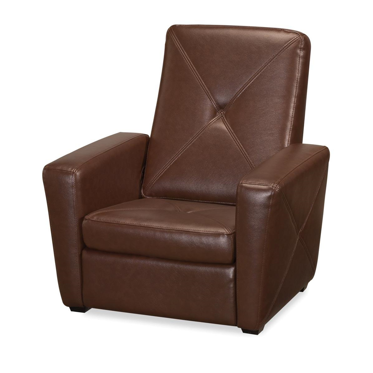Home Styles Brown Vinyl Gaming Chair Amp Ottoman By Oj