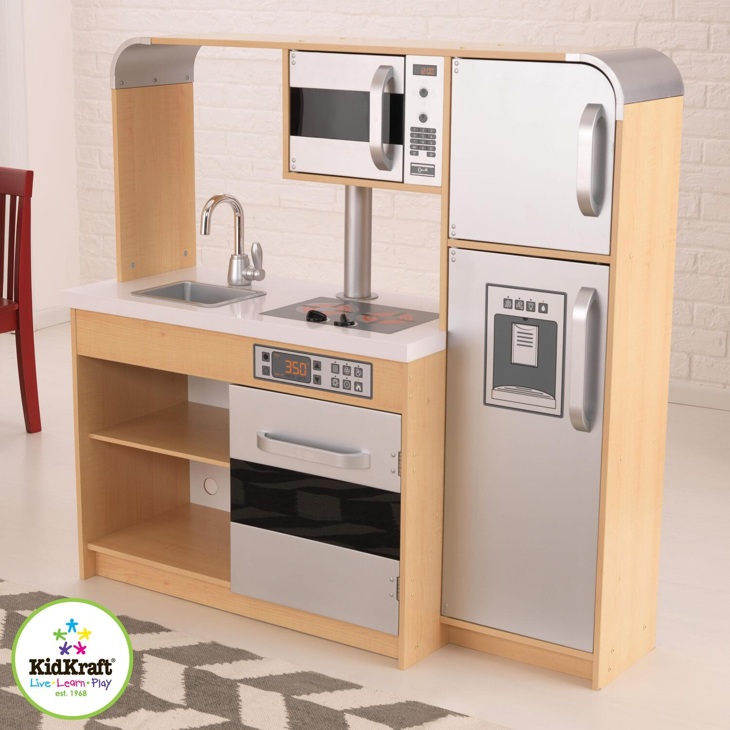 Kidkraft ultimate chef 39 s kitchen by oj commerce 53284 for Large kitchen set