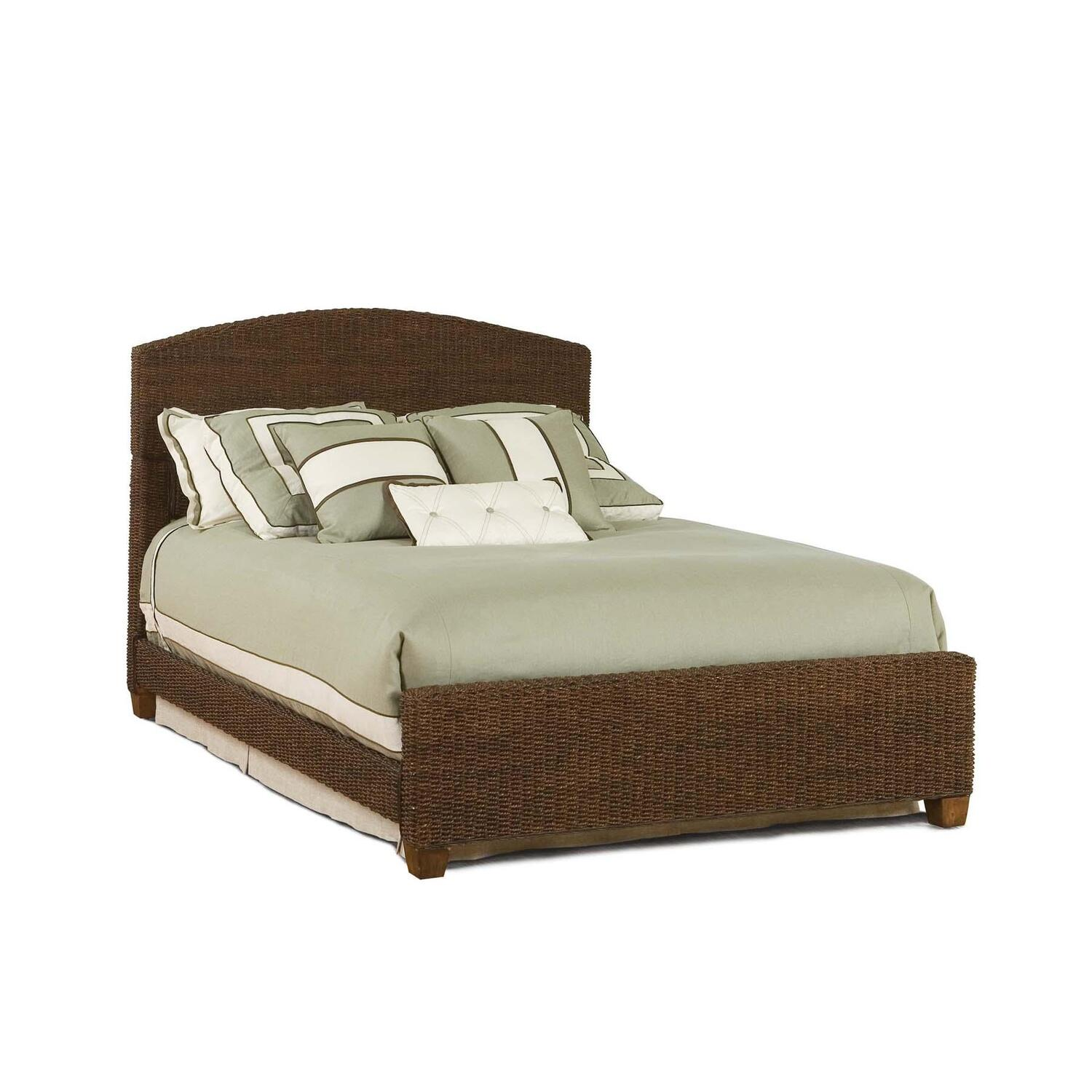 Home Styles Cabana Banana Queen Bed Honey Oak Finish