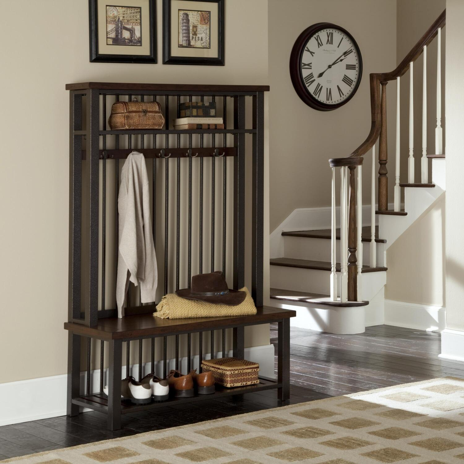 Foyer Tree Furniture : Home styles cabin creek hall tree by oj commerce