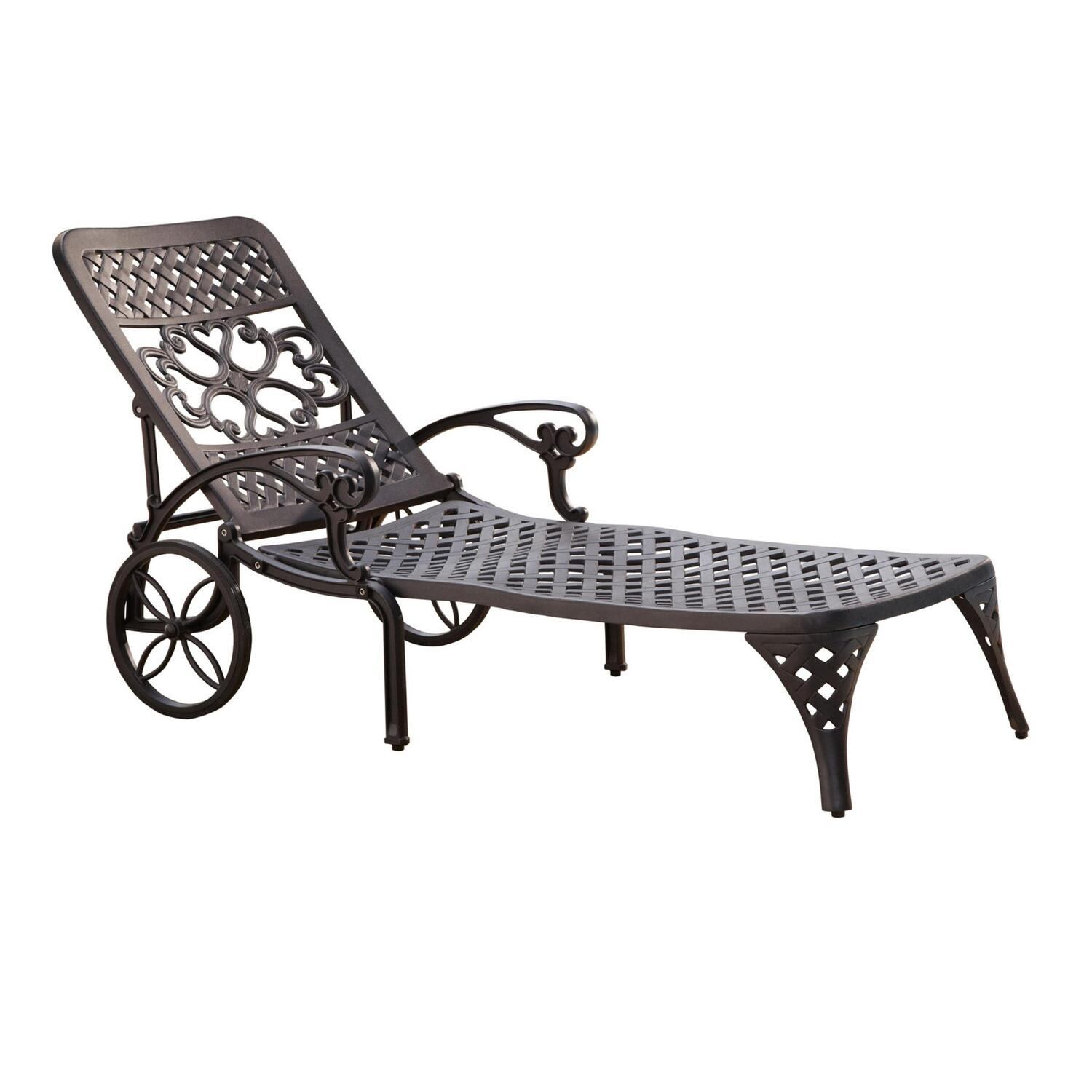 Home Styles Biscayne Chaise Lounge Chair by OJ Commerce $331.02 - $372 ...