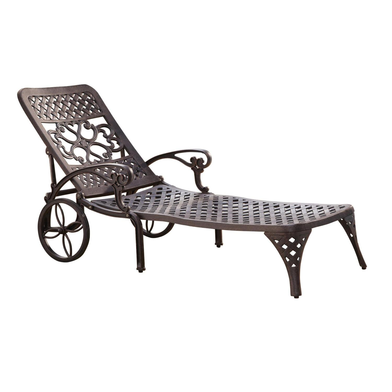 Home Styles Biscayne Chaise Lounge Chair by OJ merce $331 02 $372 20