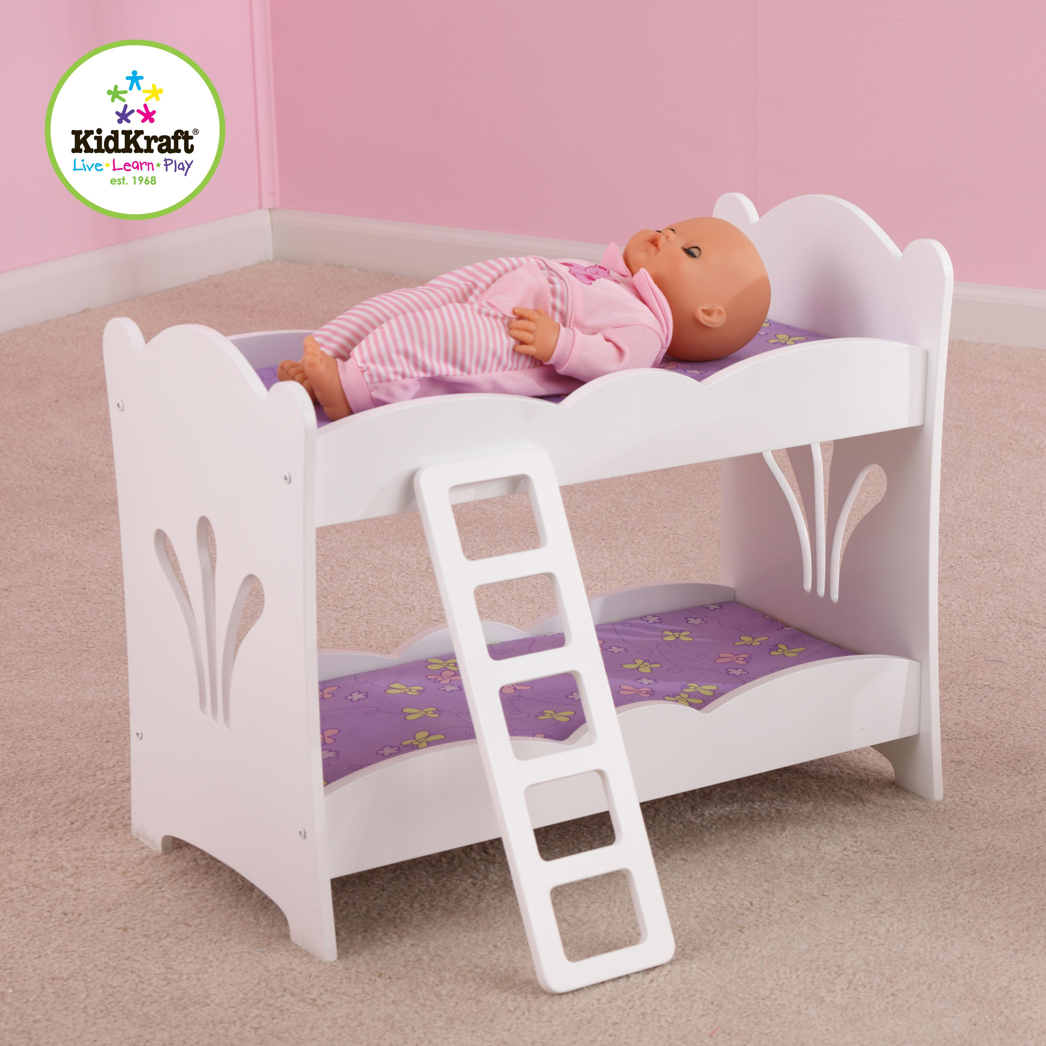 Bunk Bed Dolls: KidKraft Lil Doll Bunk Bed By OJ Commerce 60130