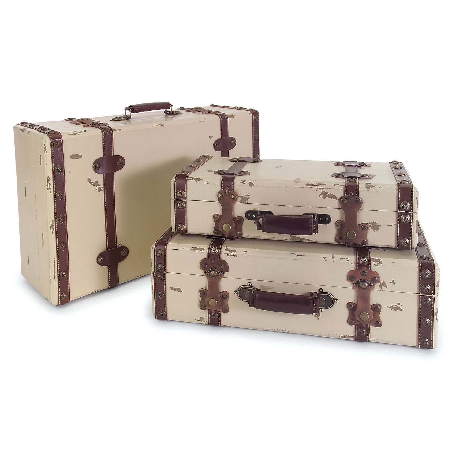 Image Result For Antique Ivory Suitcases Set Of
