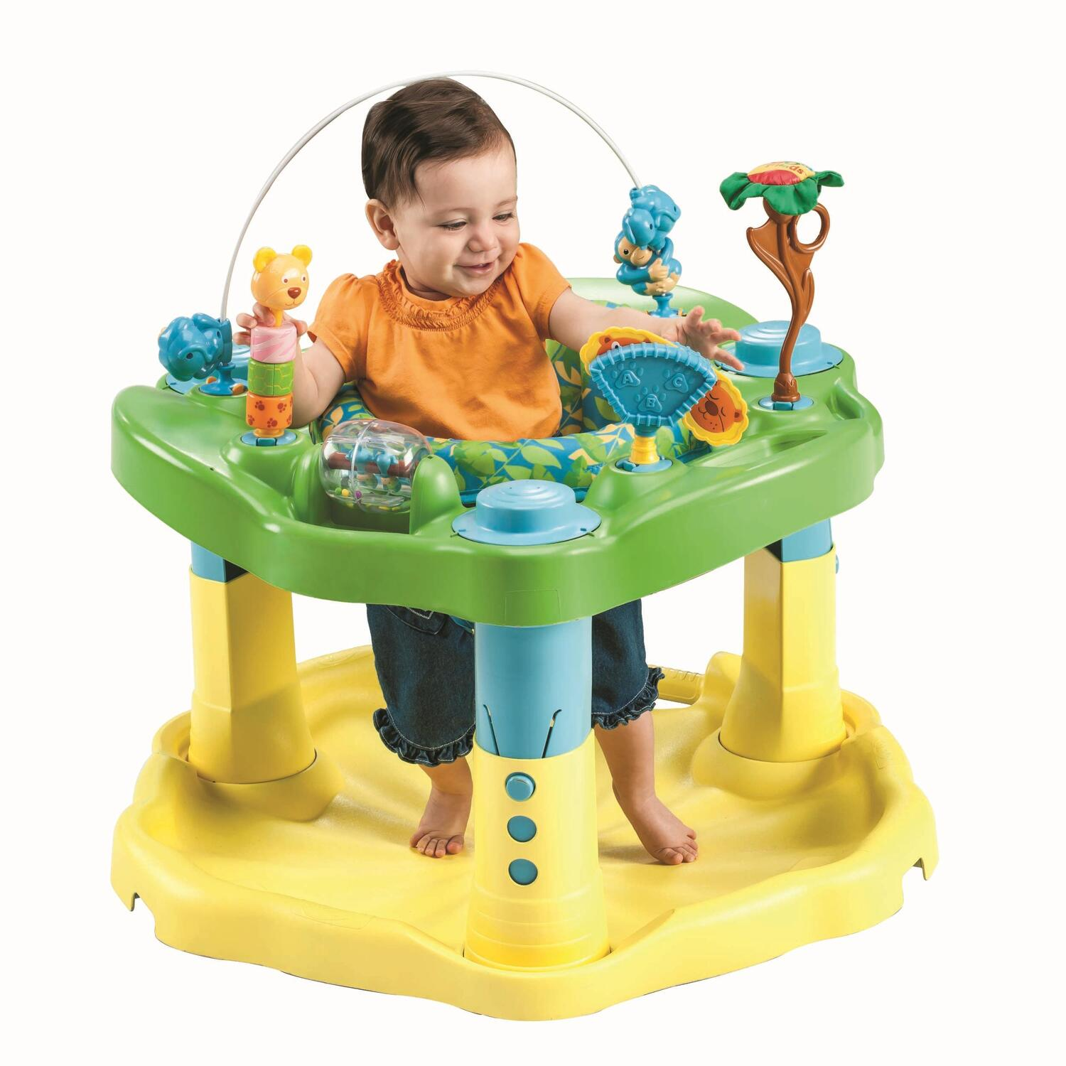 Evenflo Exersaucer Bounce Amp Learn Beach Baby Or Zoo