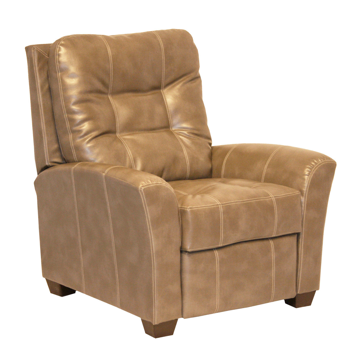 Catnapper cooper leather recliner by oj commerce for Catnapper cloud nine chaise recliner