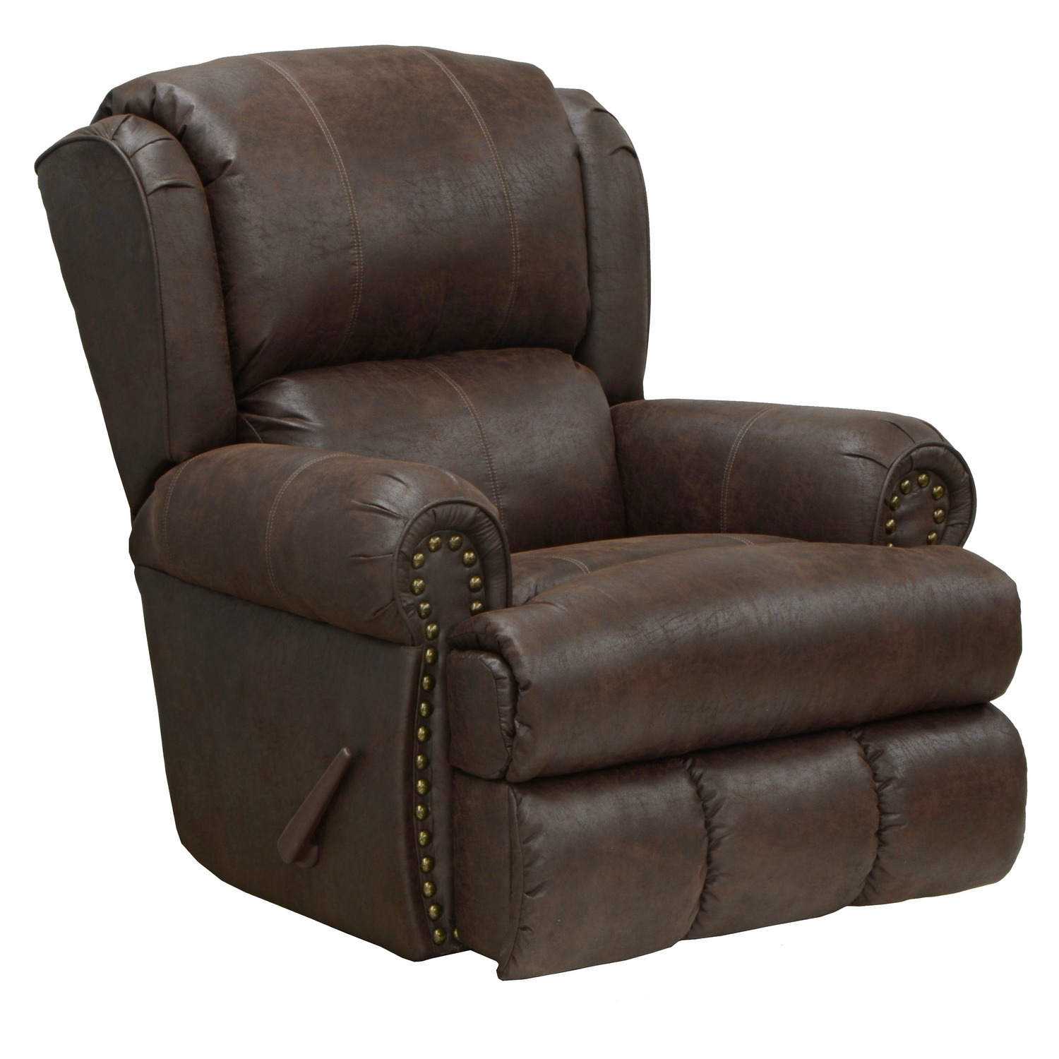 Catnapper Dempsey Leather Recliner by OJ Commerce $659.00
