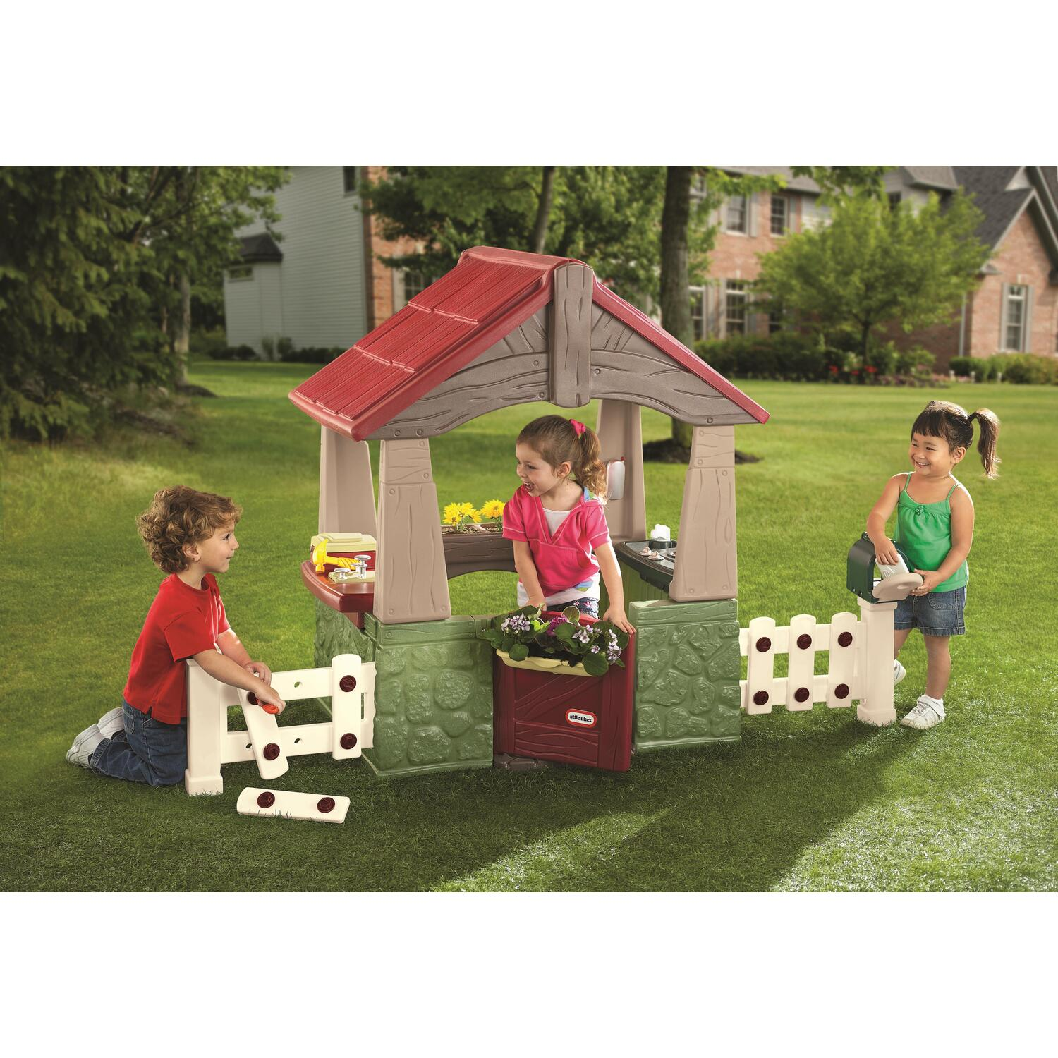 Little Tikes Home Garden Playhouse By Oj Commerce 615894