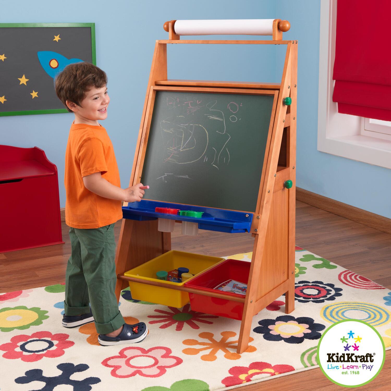 Kidkraft Easel Desk By Oj Commerce 62033 130 64