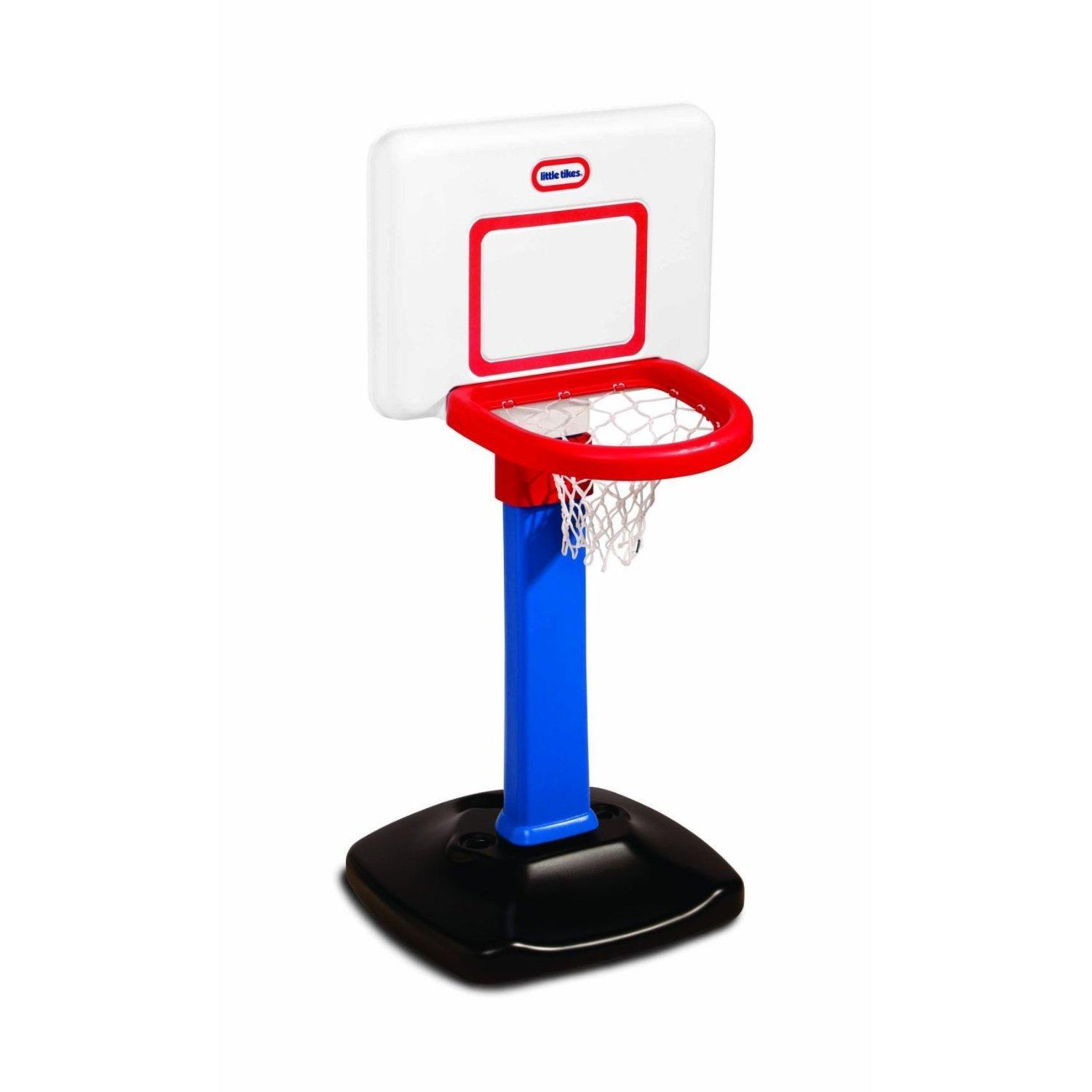 Little Tikes Totsports Basketball Set Square Backboard
