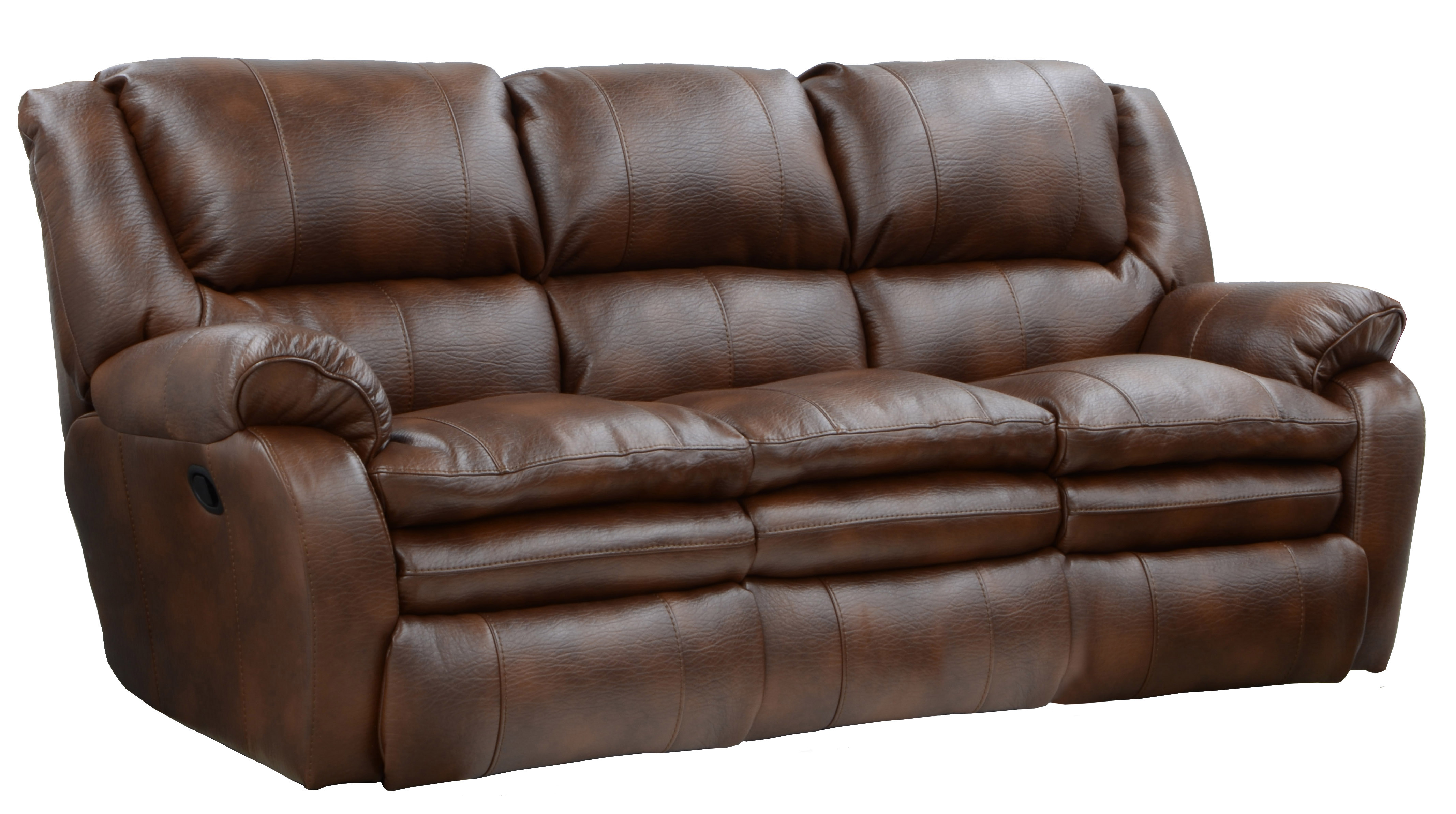 Catnapper Russell Leather Sofa By Oj Commerce 1 1