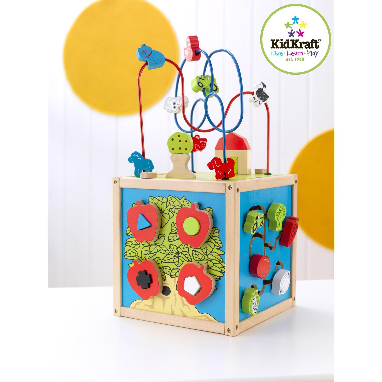 kidkraft bead maze cube by oj commerce 63243 39 51