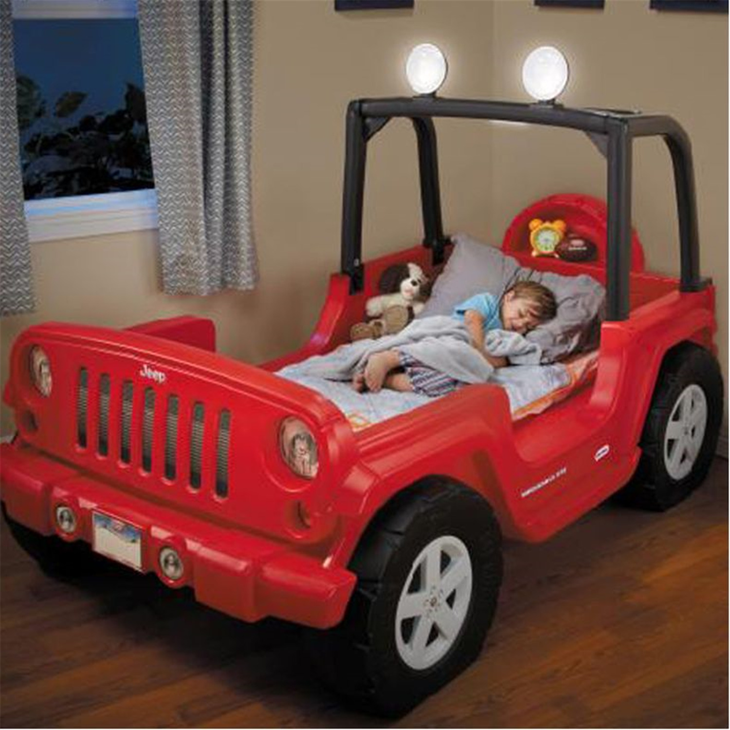Jeep Twin Toddler Bed