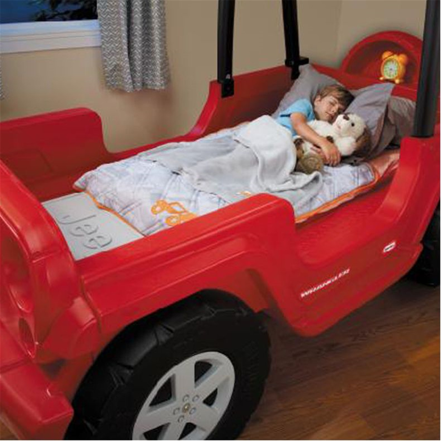 little tikes jeep wrangler toddler to twin bed 2