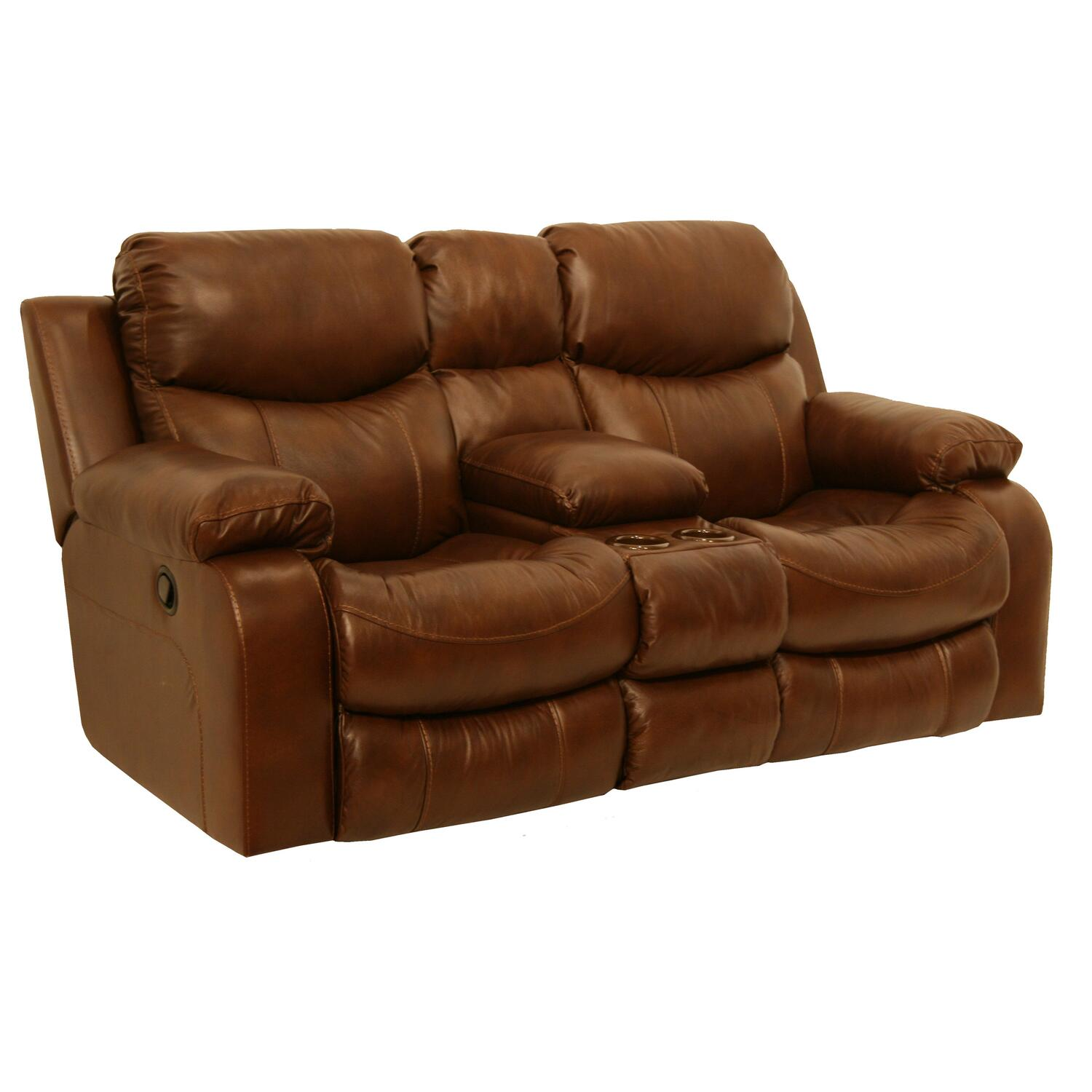 Catnapper Dallas Reclining Console Loveseat By Oj Commerce 1 1