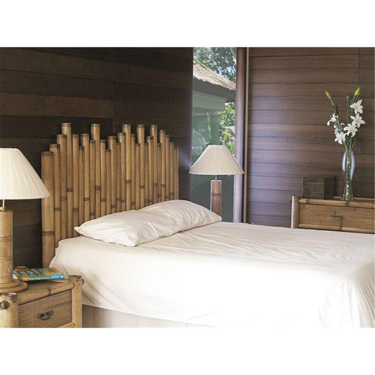 hospitality rattan havana bamboo bedroom set by oj