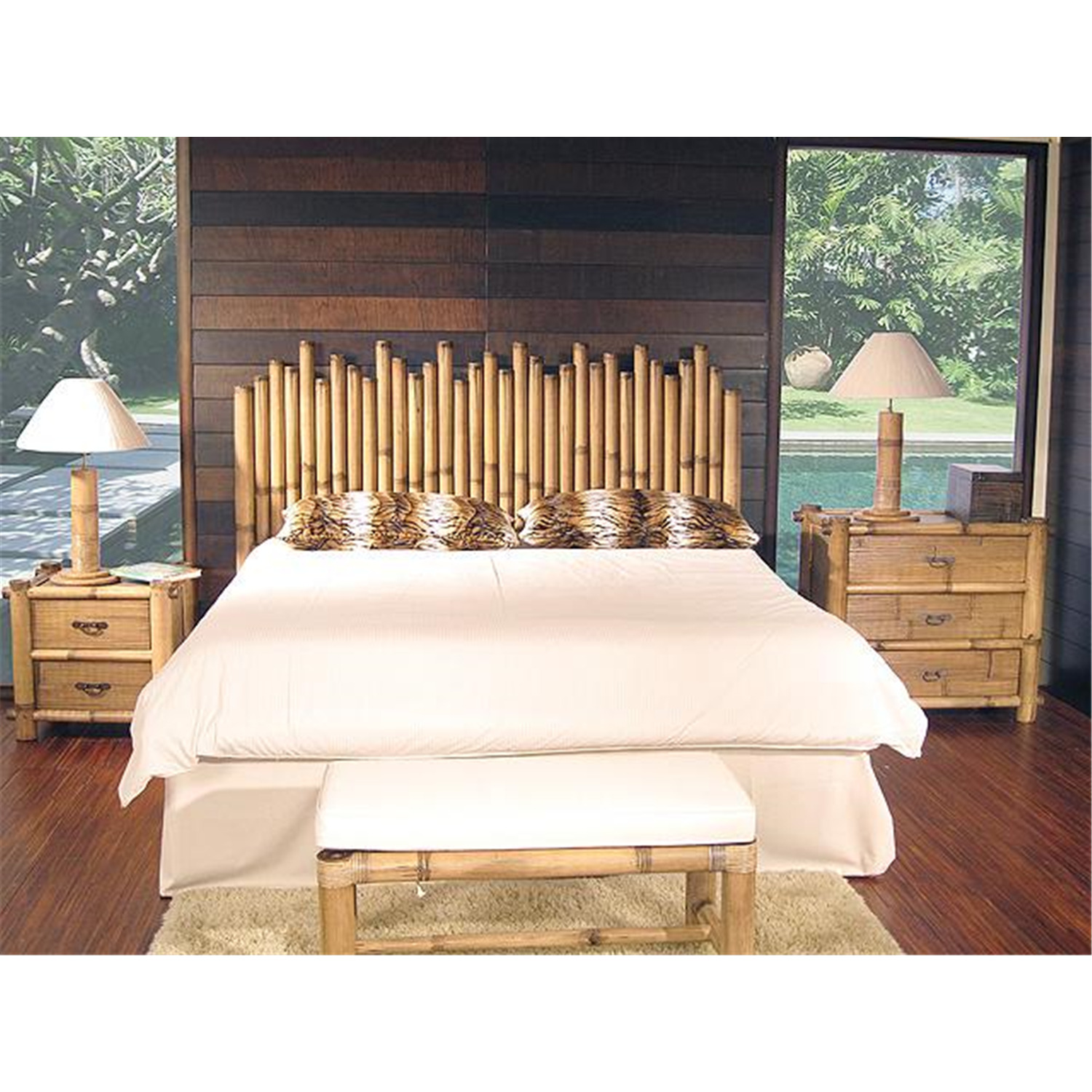 Bamboo Bedroom Decor Style Remodelling Home Design Ideas Impressive Bamboo Bedroom Decor Style Remodelling