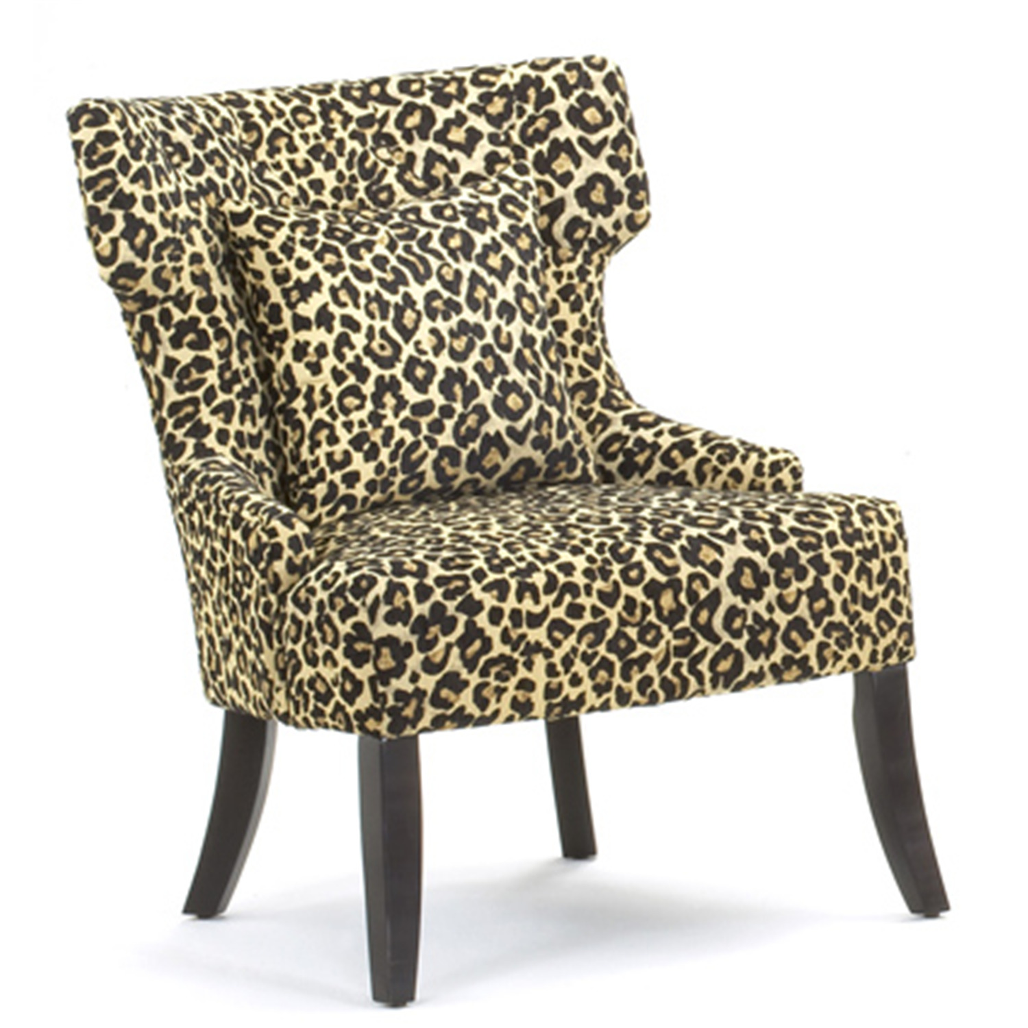 leopard accent chair hammary 090 428 treasures leopard