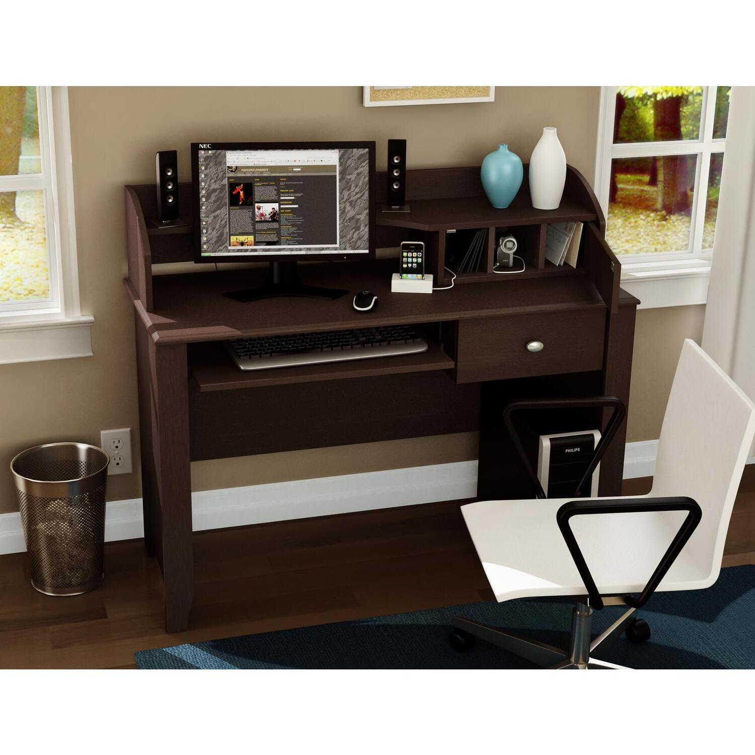 South Shore Secretary Desk by OJ Commerce 7259795 - $285.04