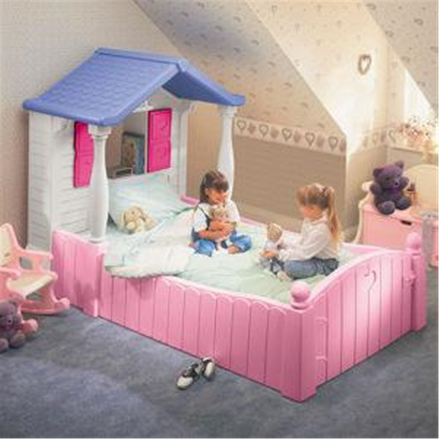 Little Tikes Storybook Cottage Twin Bed By Oj Commerce 661 99