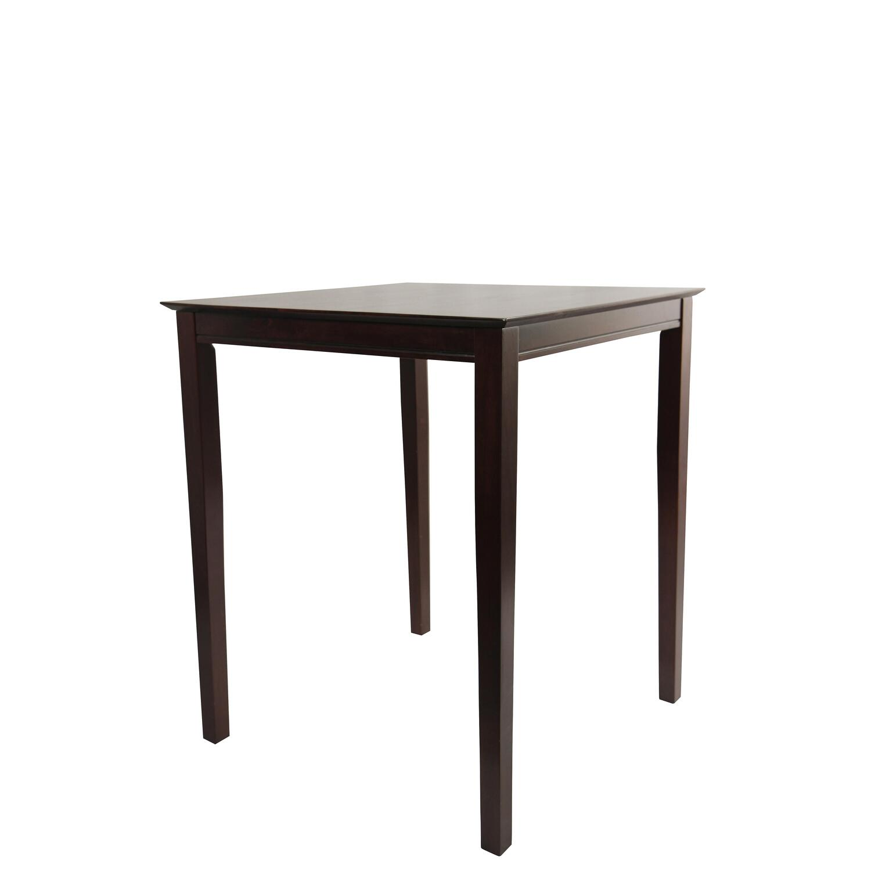 Boraam square pub table 42 h 36 x36 by oj commerce 153 for 99 pub table