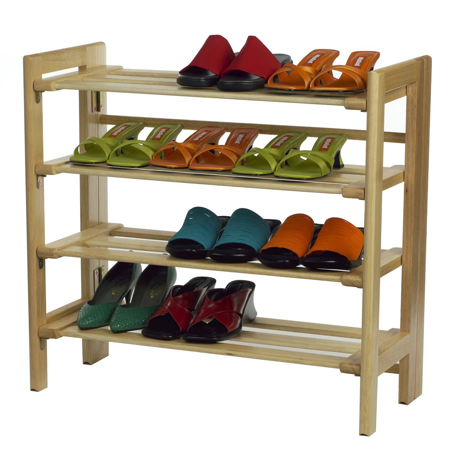 winsome shoe rack 4 tier by oj commerce 81228 57 20