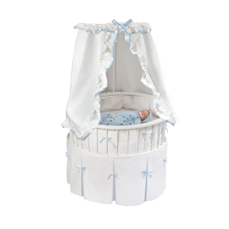 Badger Basket Elite Oval Baby Bassinet By Oj Commerce 124