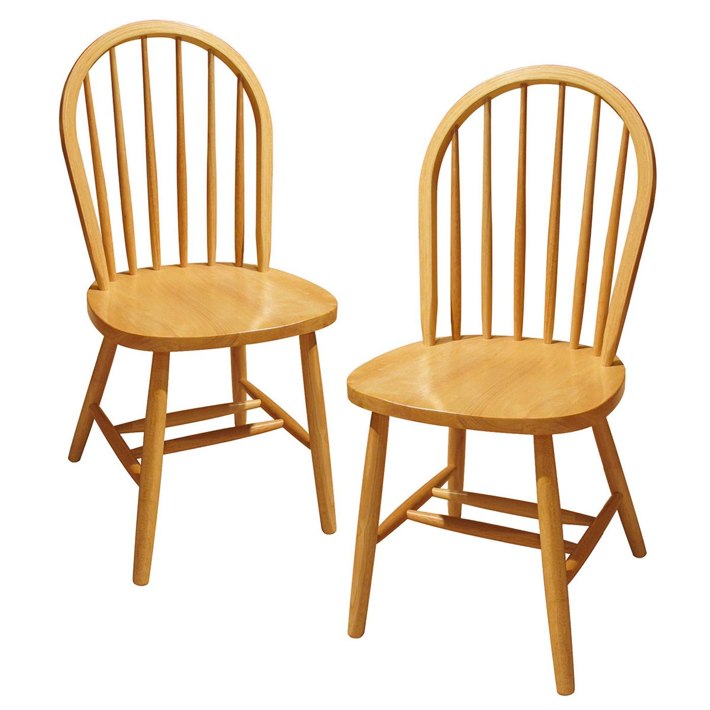 Winsome set of windsor chair assembled by oj commerce