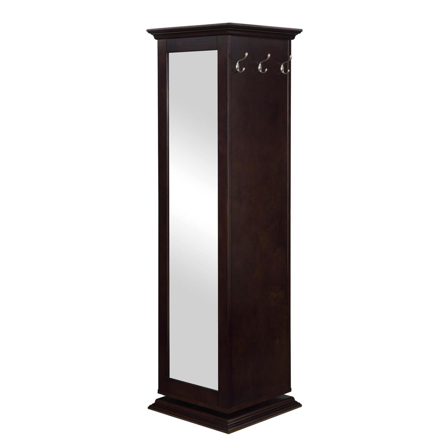 Hollywood Home Swivel Cabinet by OJ Commerce $301.00