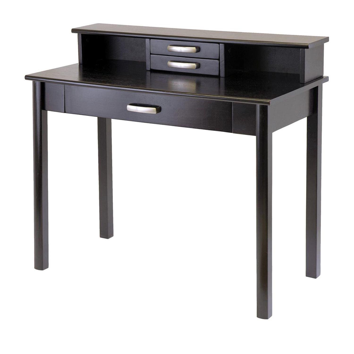 Superb img of  Office Set Computer Desk with Hutch by OJ Commerce 92271 $243.03 with #6F675C color and 1400x1400 pixels