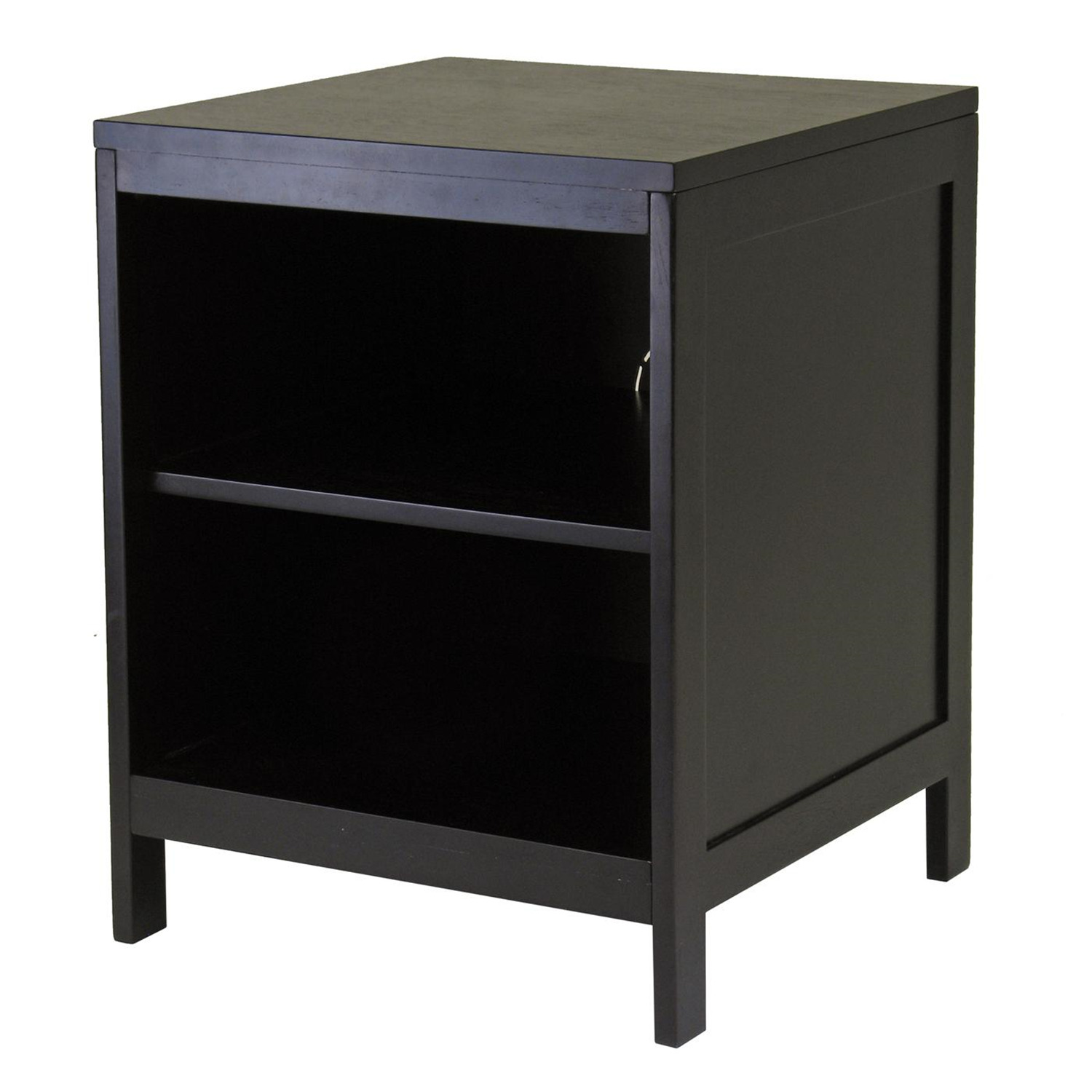winsome hailey tv stand modular open shelf small by oj. Black Bedroom Furniture Sets. Home Design Ideas