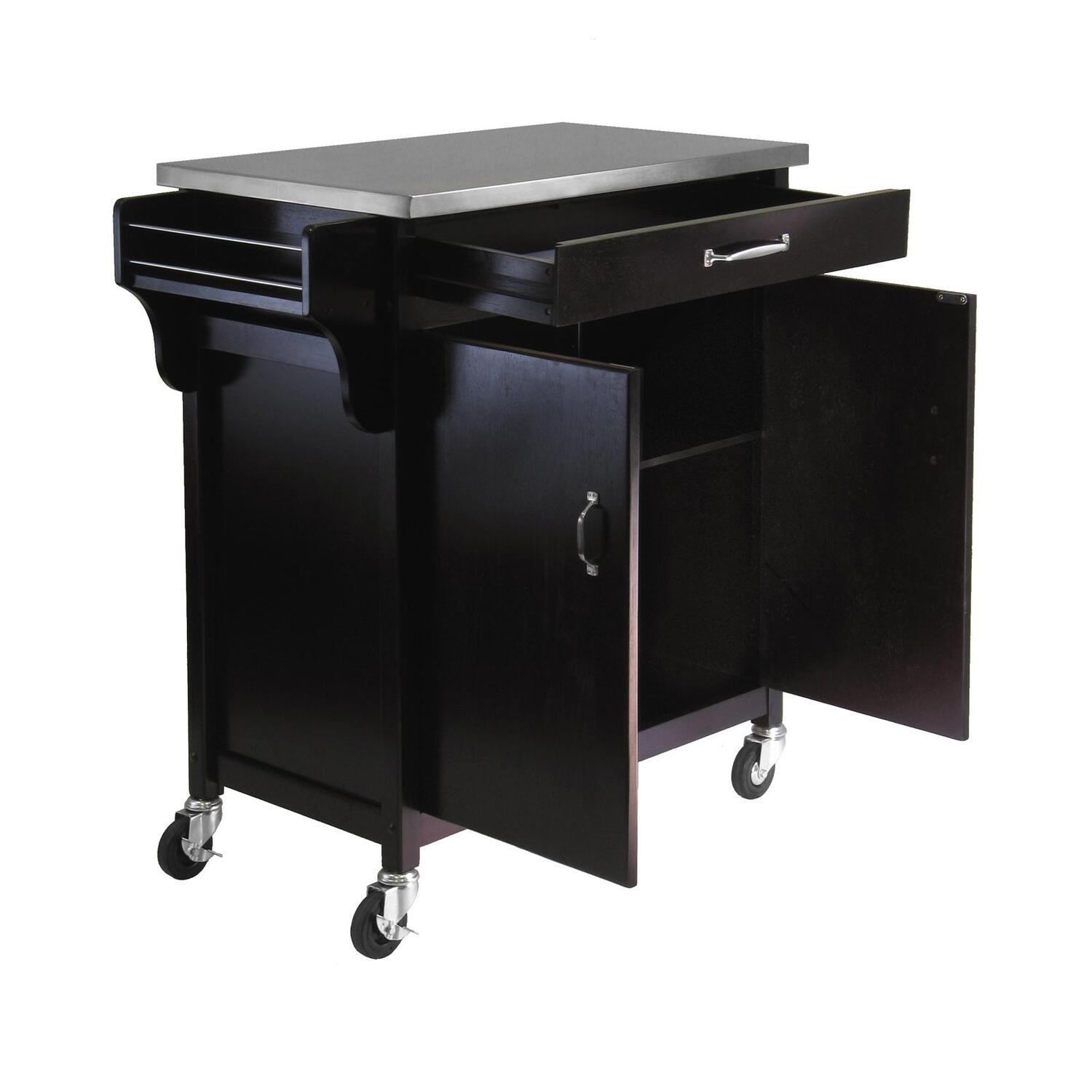 Winsome Stainless Steel Kitchen Cart by OJ merce