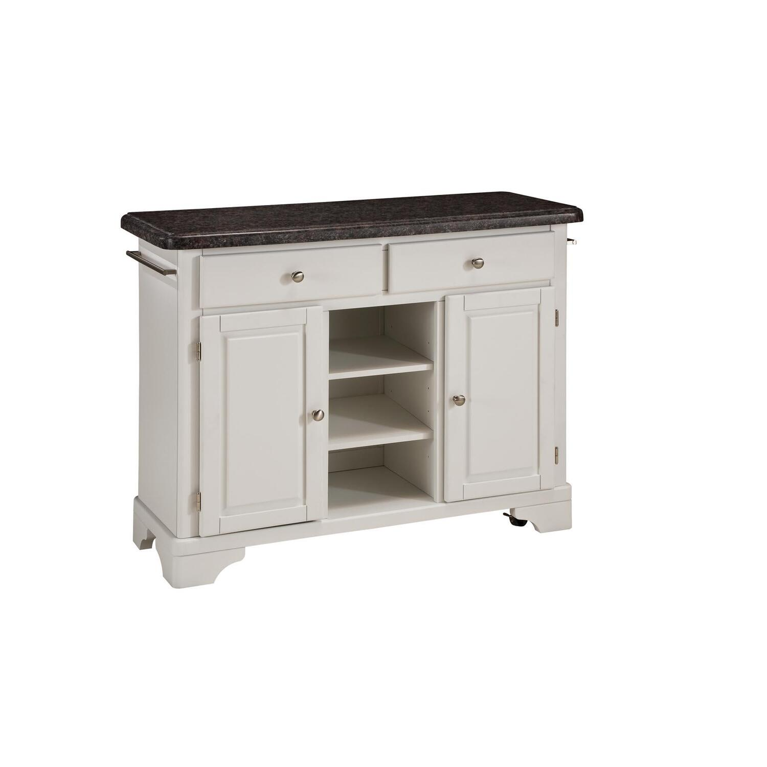 Home Styles Cabinet with Salmon Granite Top by OJ Commerce 9300 1025