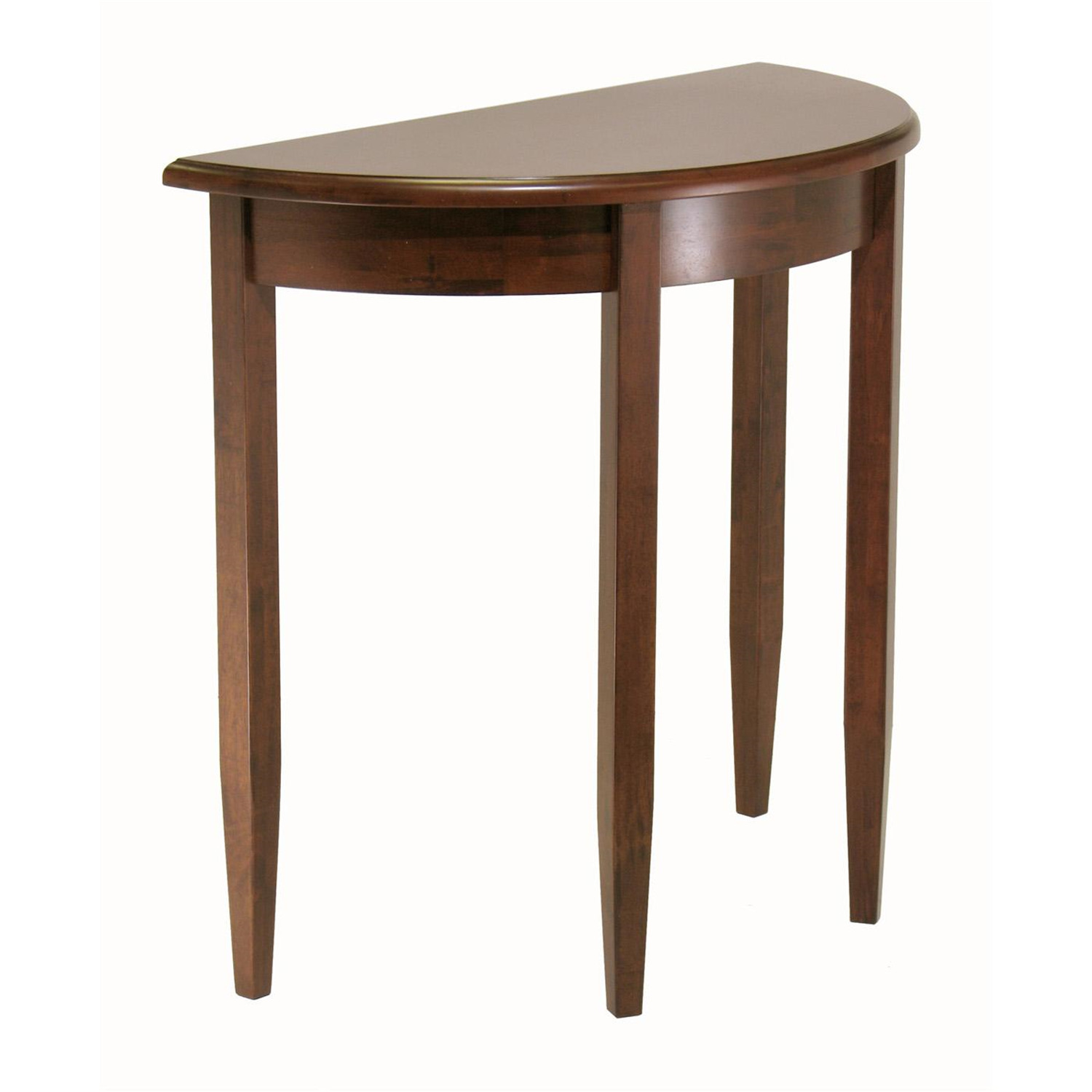 winsome concord half moon accent table by oj commerce