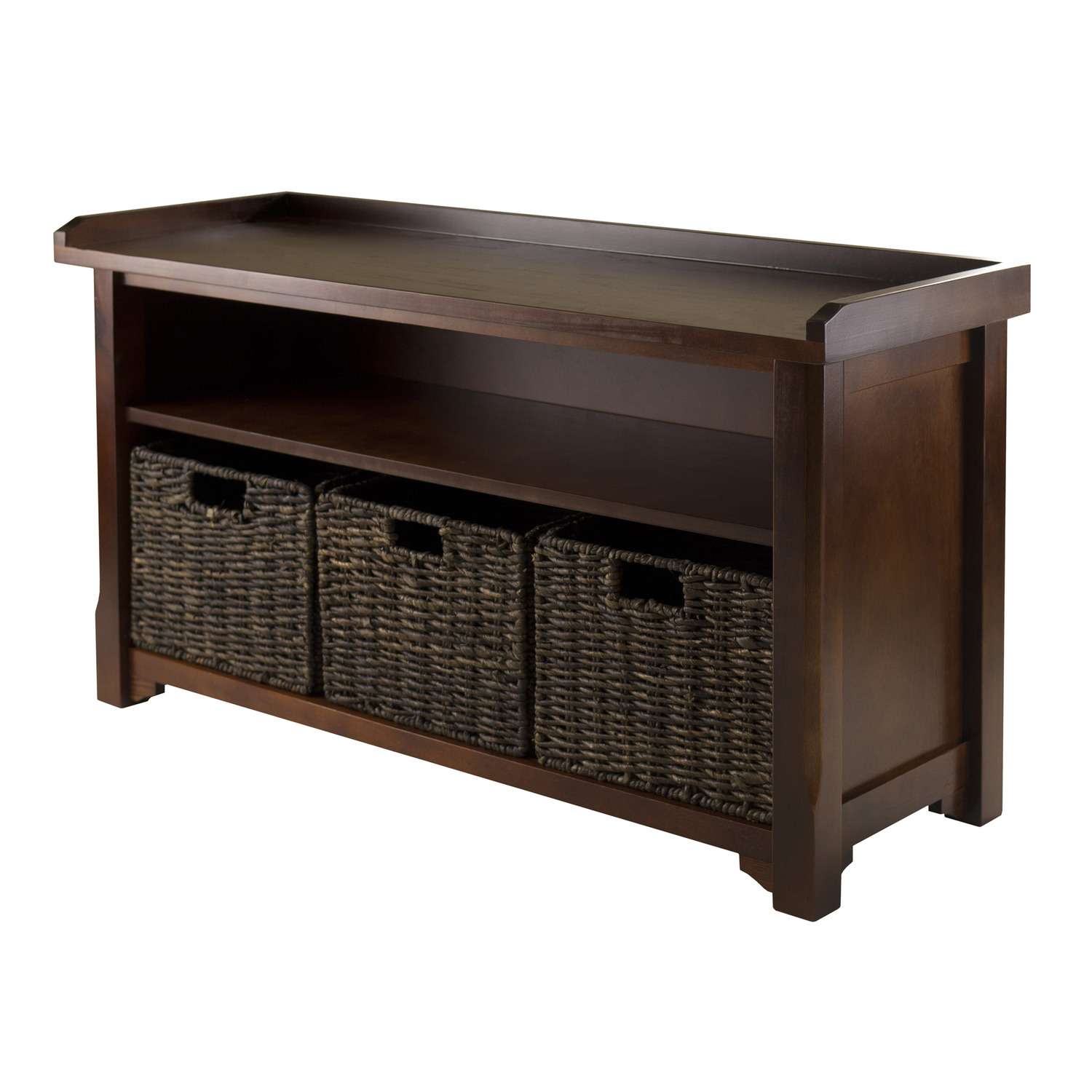 Winsome Wood Granville Storage Bench By Oj Commerce 94338