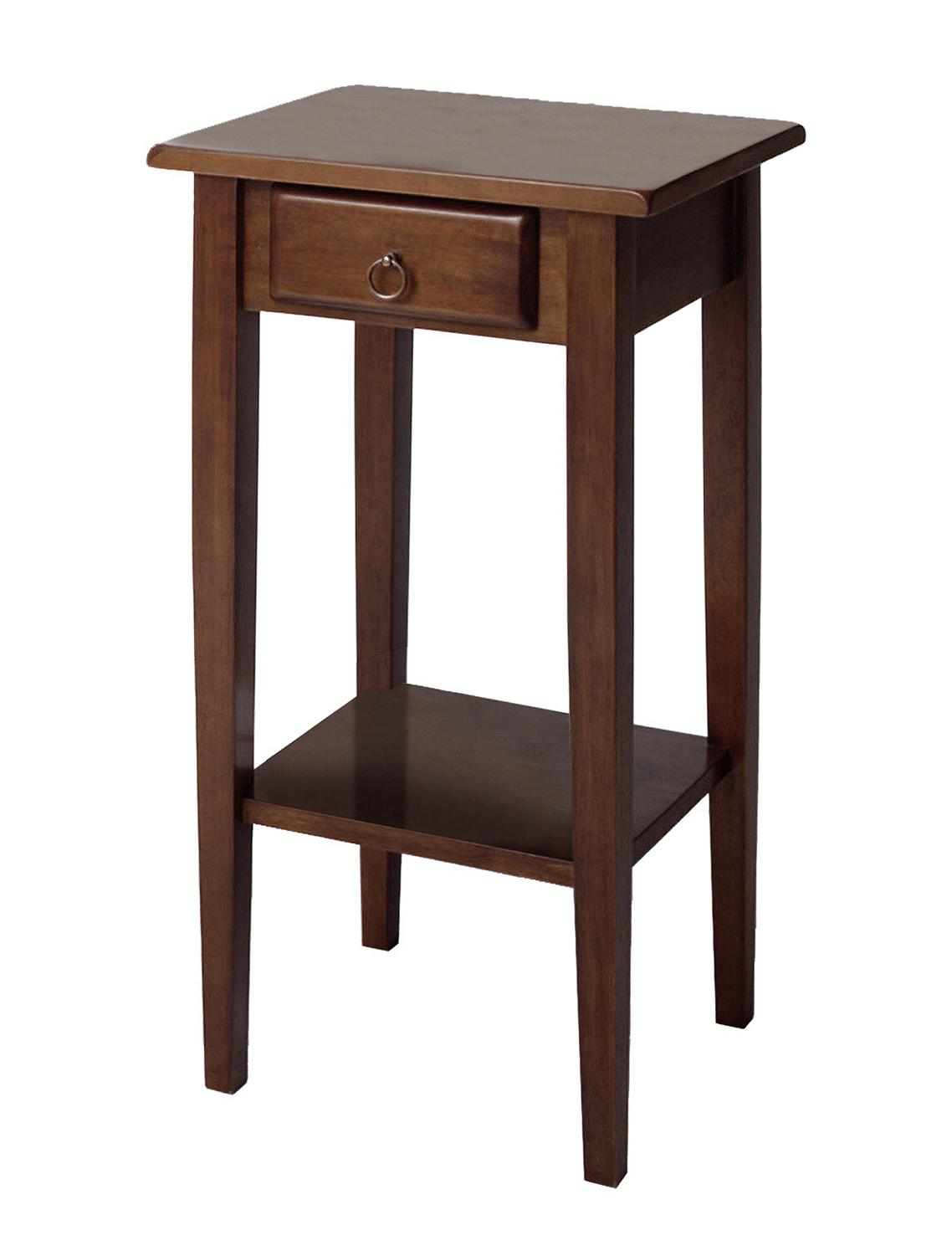 Winsome Regalia Accent Table With Drawer Shelf By OJ