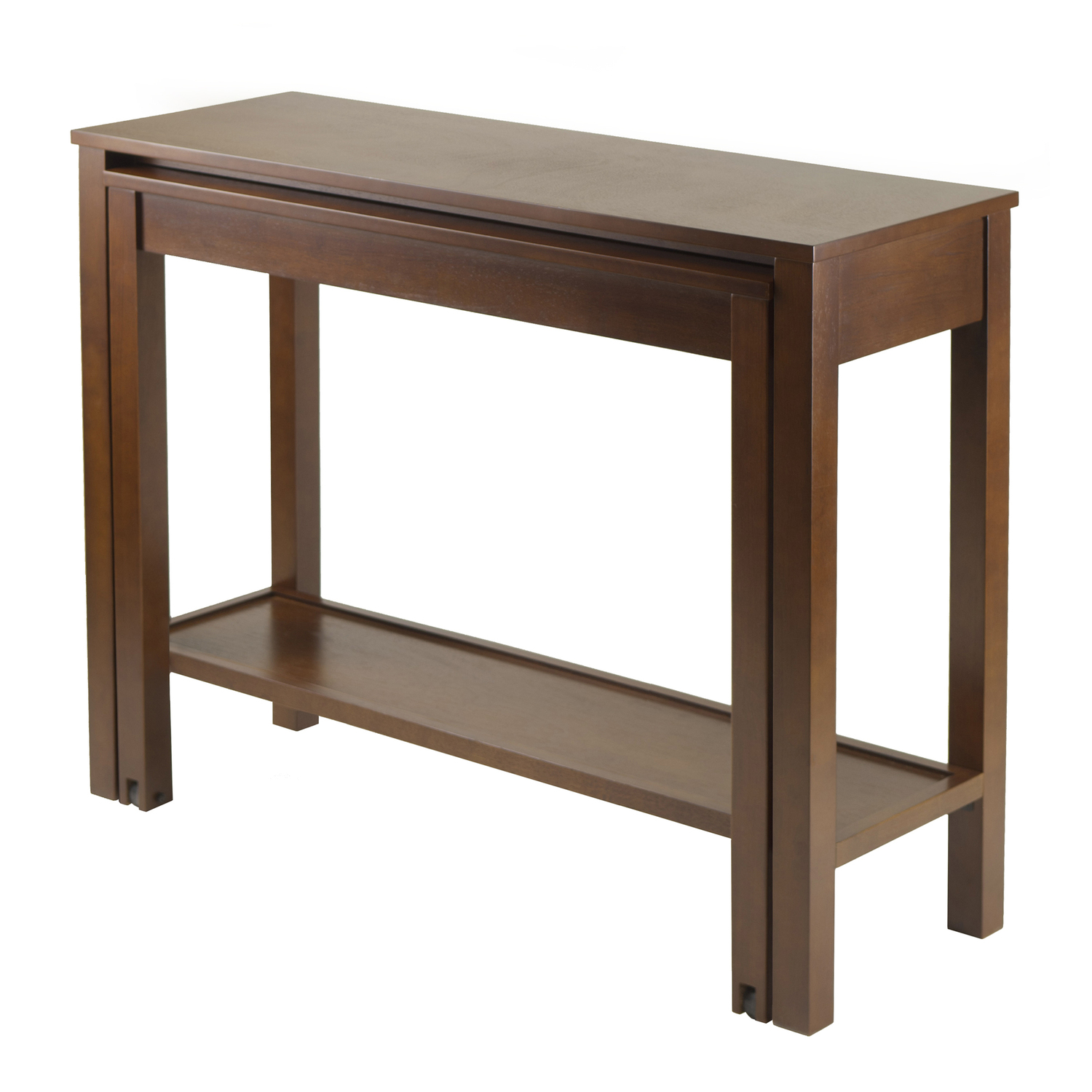 winsome wood brandon expandable console table by oj. Black Bedroom Furniture Sets. Home Design Ideas