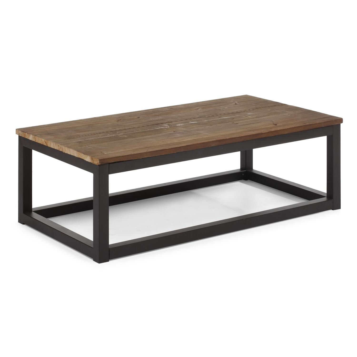 Zuo modern civic center long coffee table by oj commerce for Center table coffee table