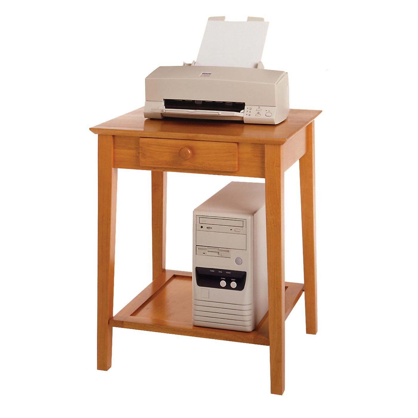 Wooden Printer Tables ~ Winsome studio end printer table by oj commerce