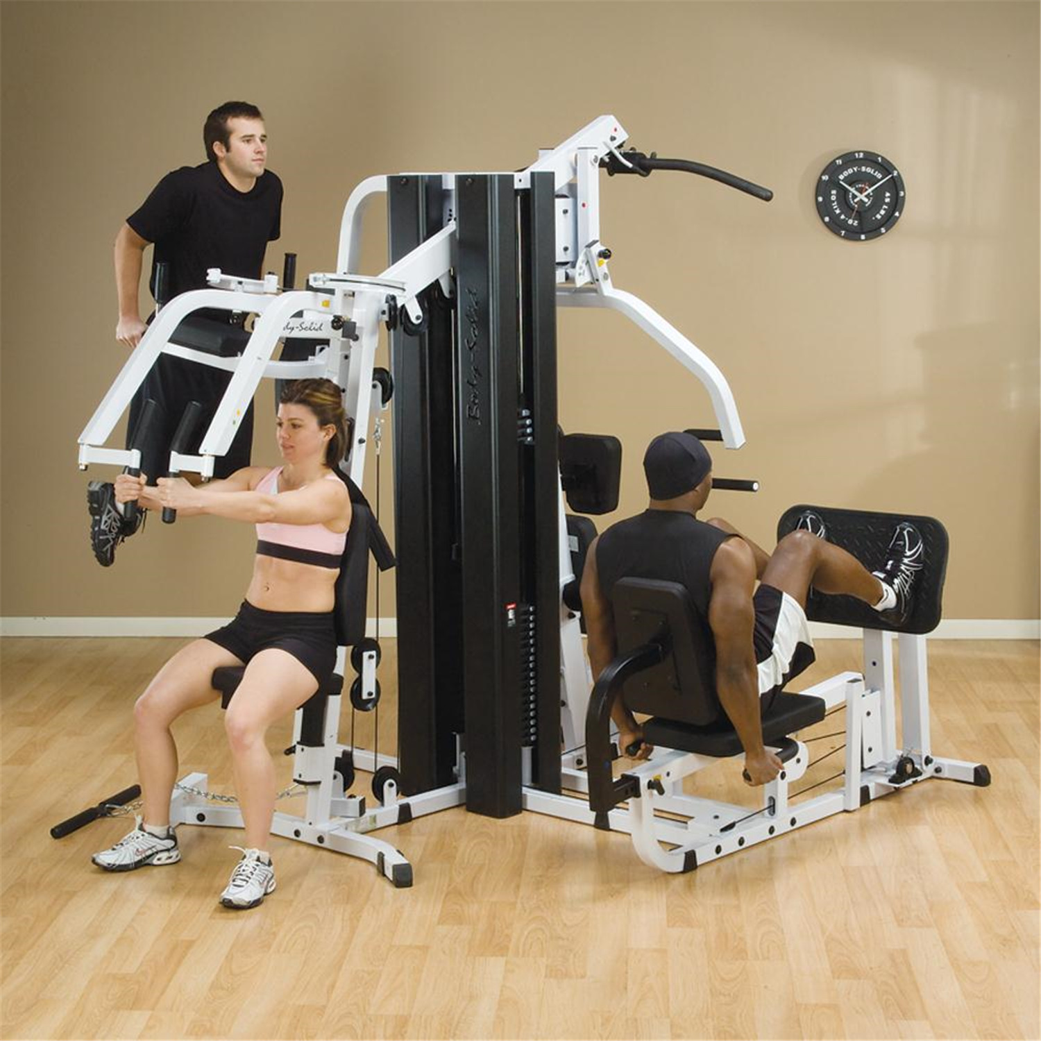 Body Solid Body Solid Double Stack Home Gym by OJ Commerce ...