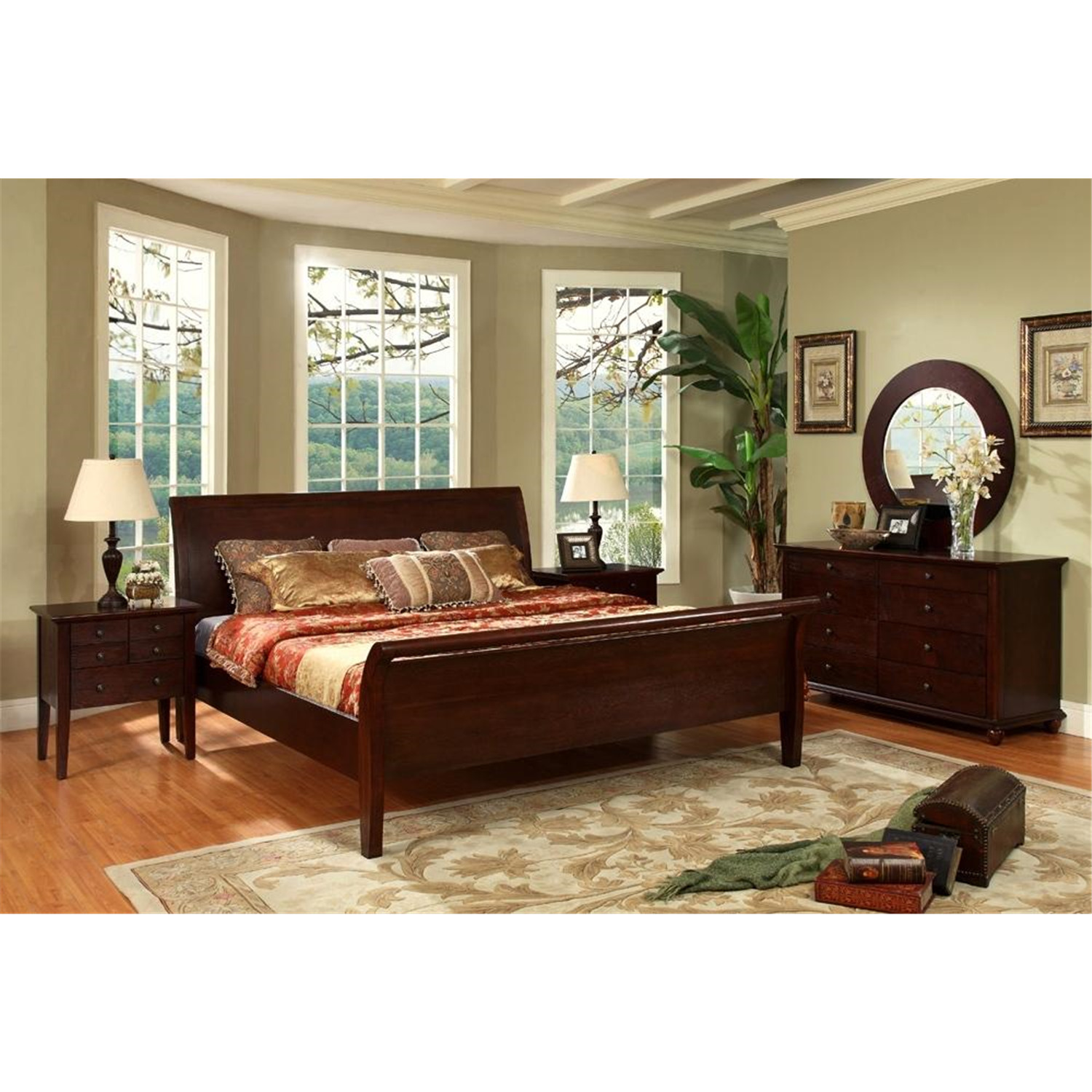 abbyson living 5 piece queen bedroom set by oj commerce